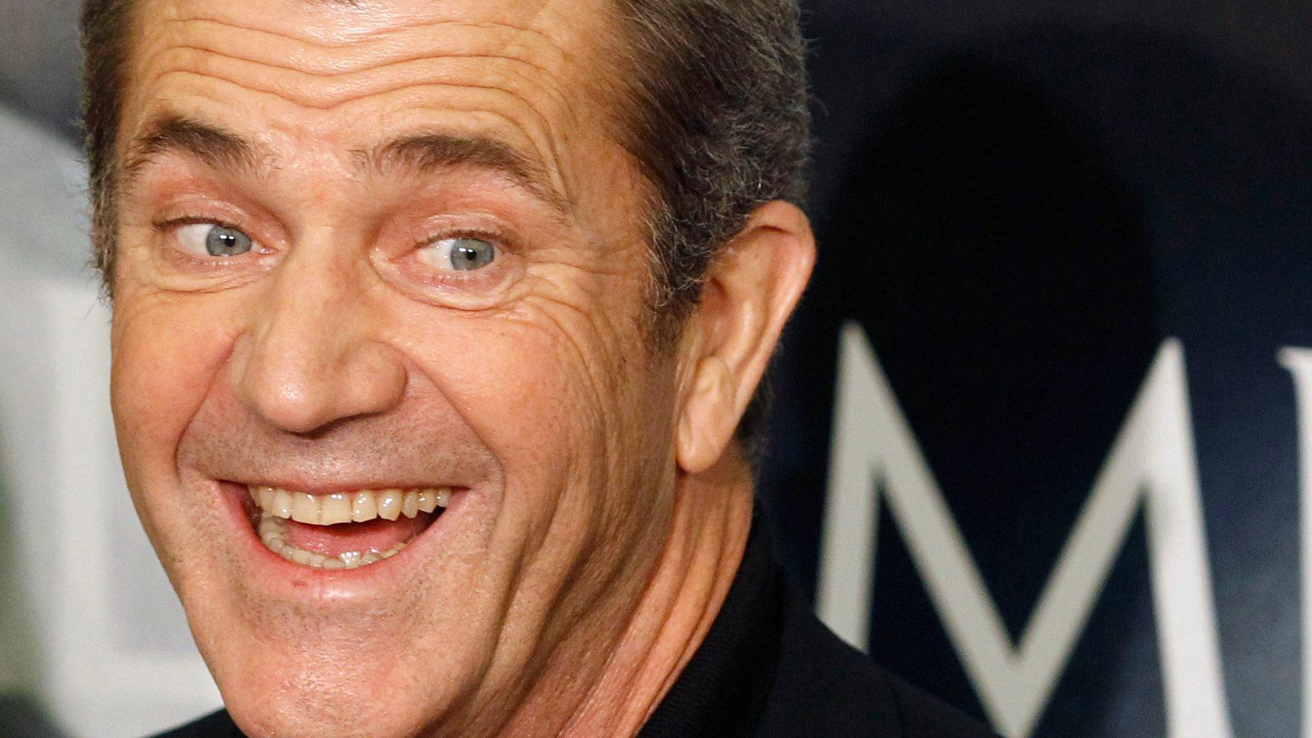 Mel Gibson (Reuters)