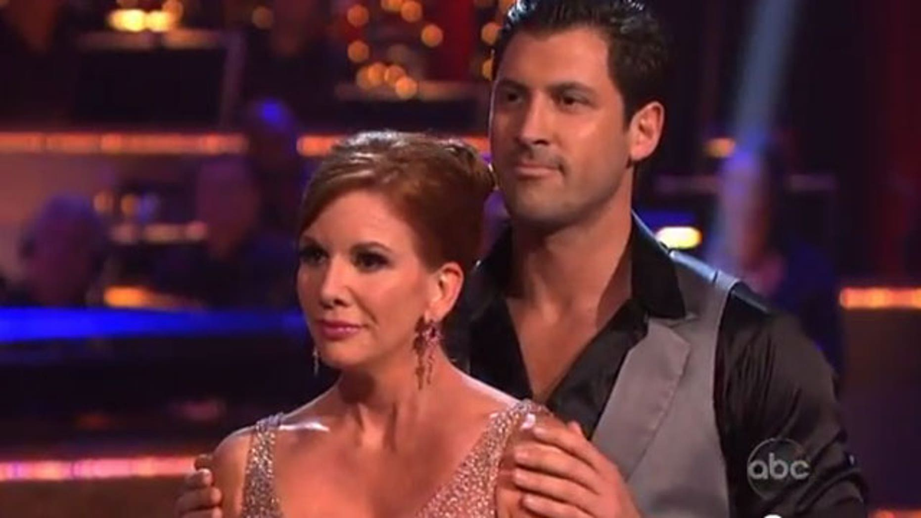 Melissa and Maks on 'Dancing With the Stars' (ABC)