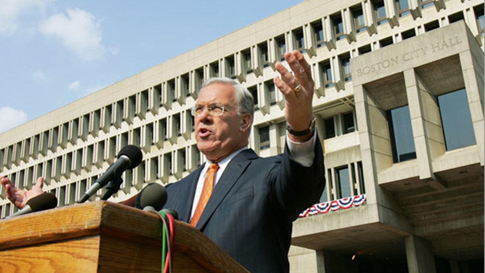 Boston Mayor Thomas M. Menino