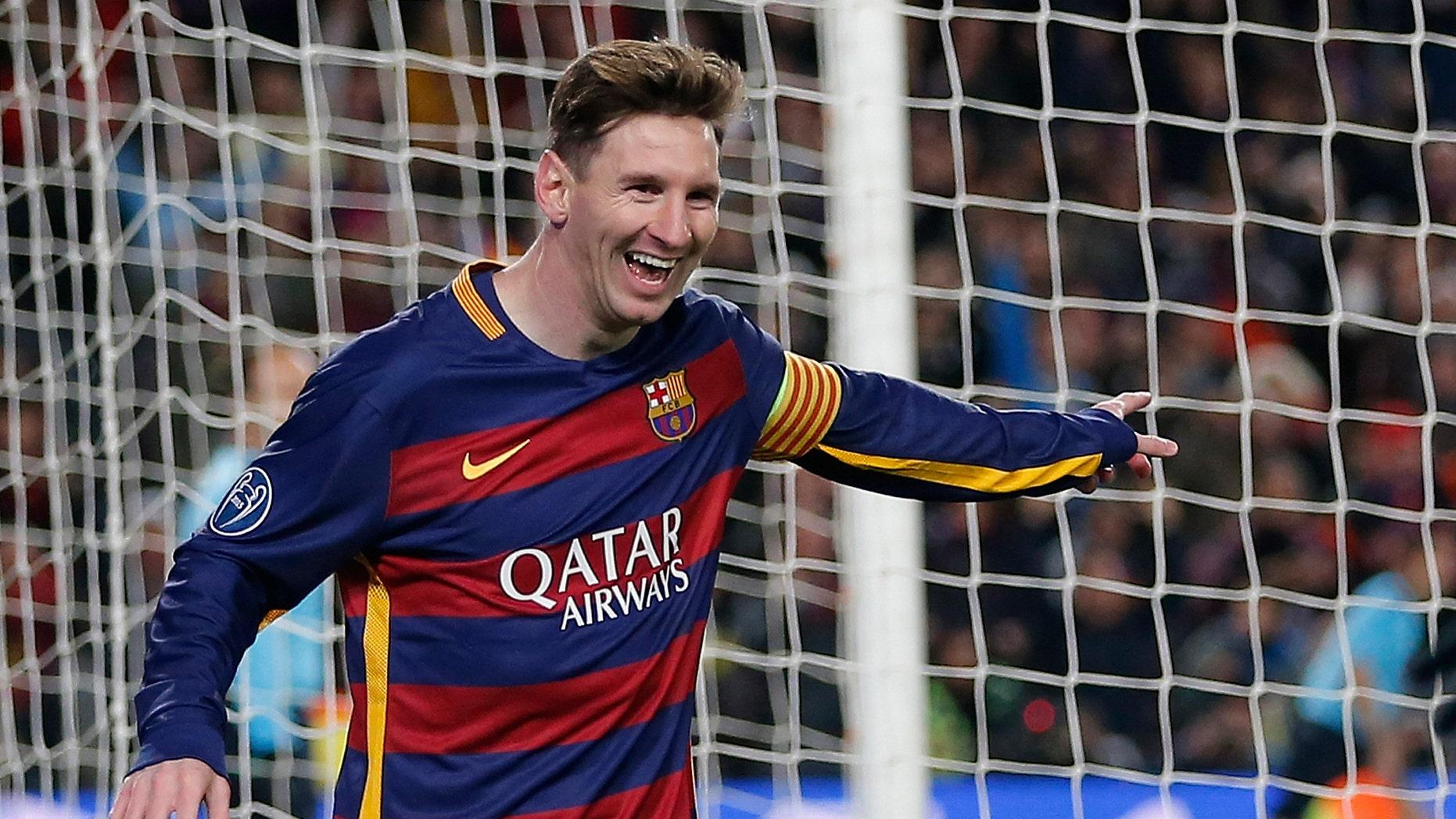 Messi scores first 2 goals since return as Barcelona ...