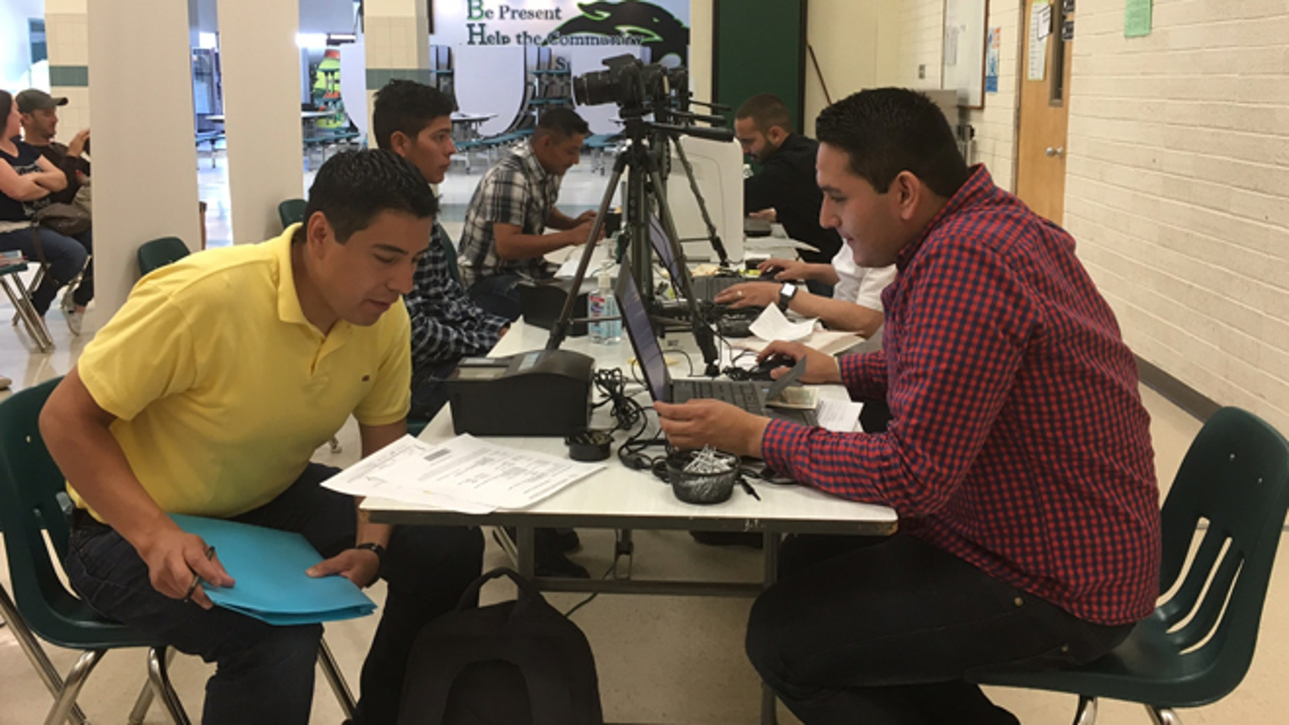 On June 18, 2016 Mexico's consulate partnered with the Montana Immigrant Justice Association and the Montana Migrant and Seasonal Farmworkers Council to provide immigrants with consular services and health checkups. (Courtesy: Mexican Consulate in Boise)