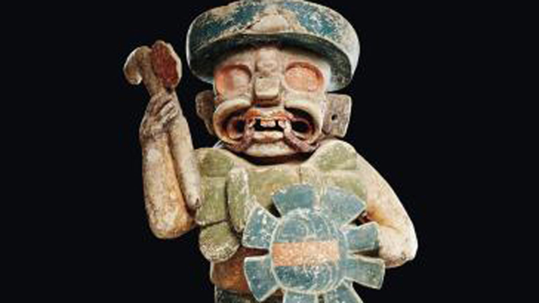 The Mexican government on Wednesday said a Mayan-style statue that brought a record $4 million (2.9 million euros) at auction this week is a fake. Auctioneers vow it is genuine and claim Mexico wants to quash legal sales of pre-Hispanic artifacts.