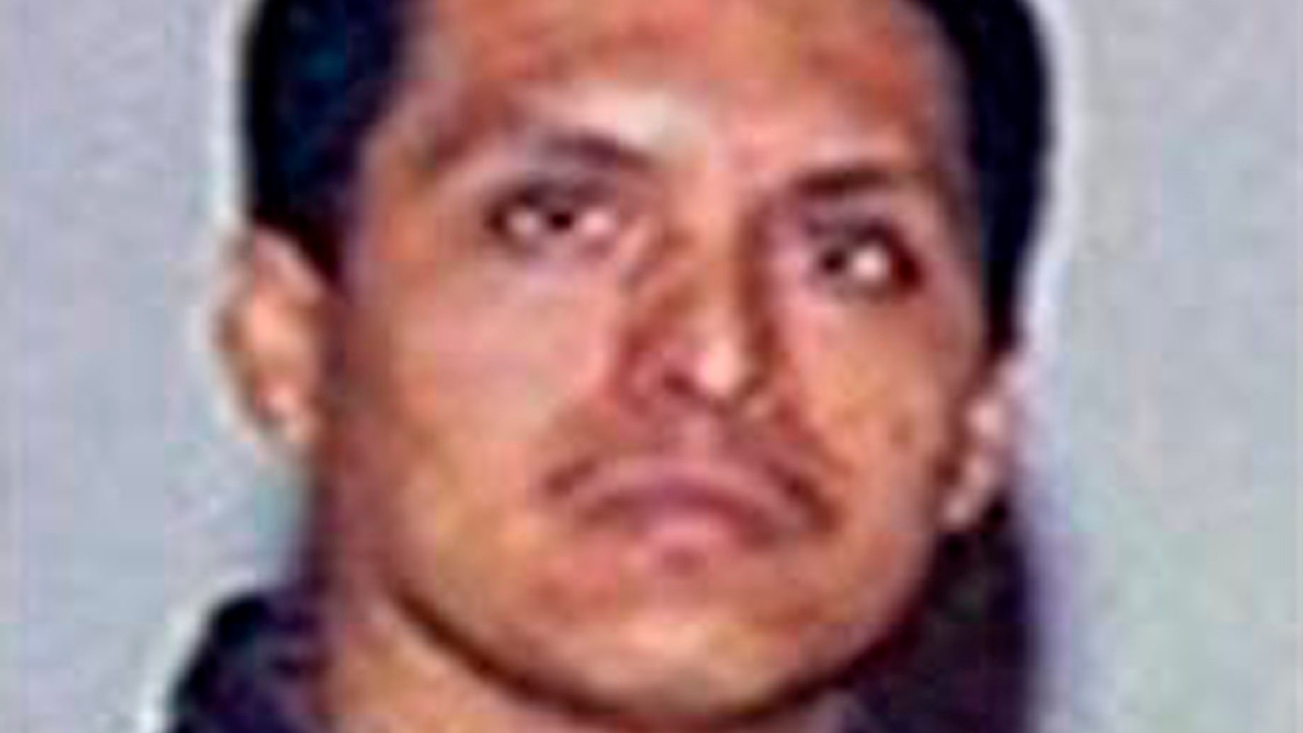 This undated image taken from the Mexican Attorney General's Office rewards program website on Aug. 23, 2012, shows the alleged leader of Zetas drug cartel, Miguel Angel Trevino Morales, alias âZ-40.â (AP Photo/Mexican Attorney General's Office website)