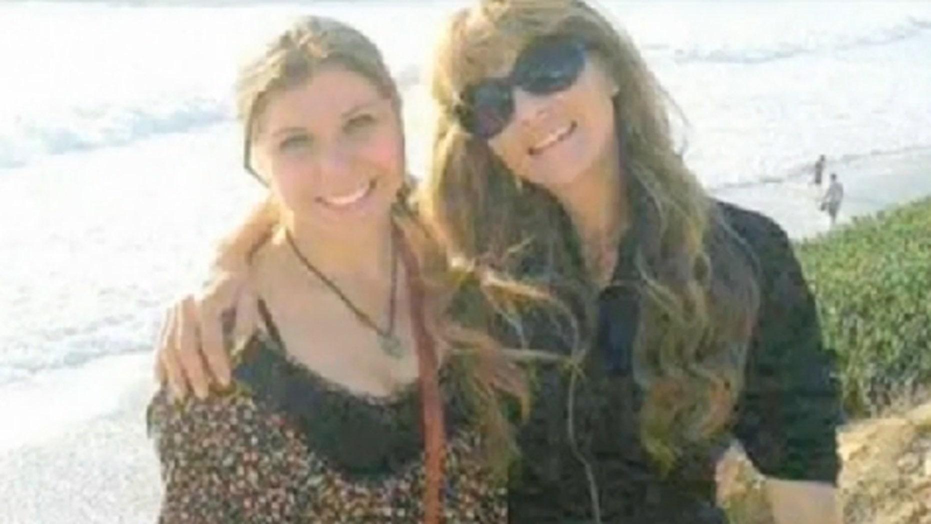 A screenshot of Anastasia Lechtchenko and her mother.