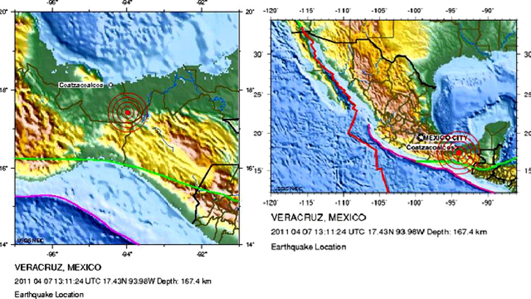 A magnitude 6.5 earthquake struck Mexico early Thursday morning.