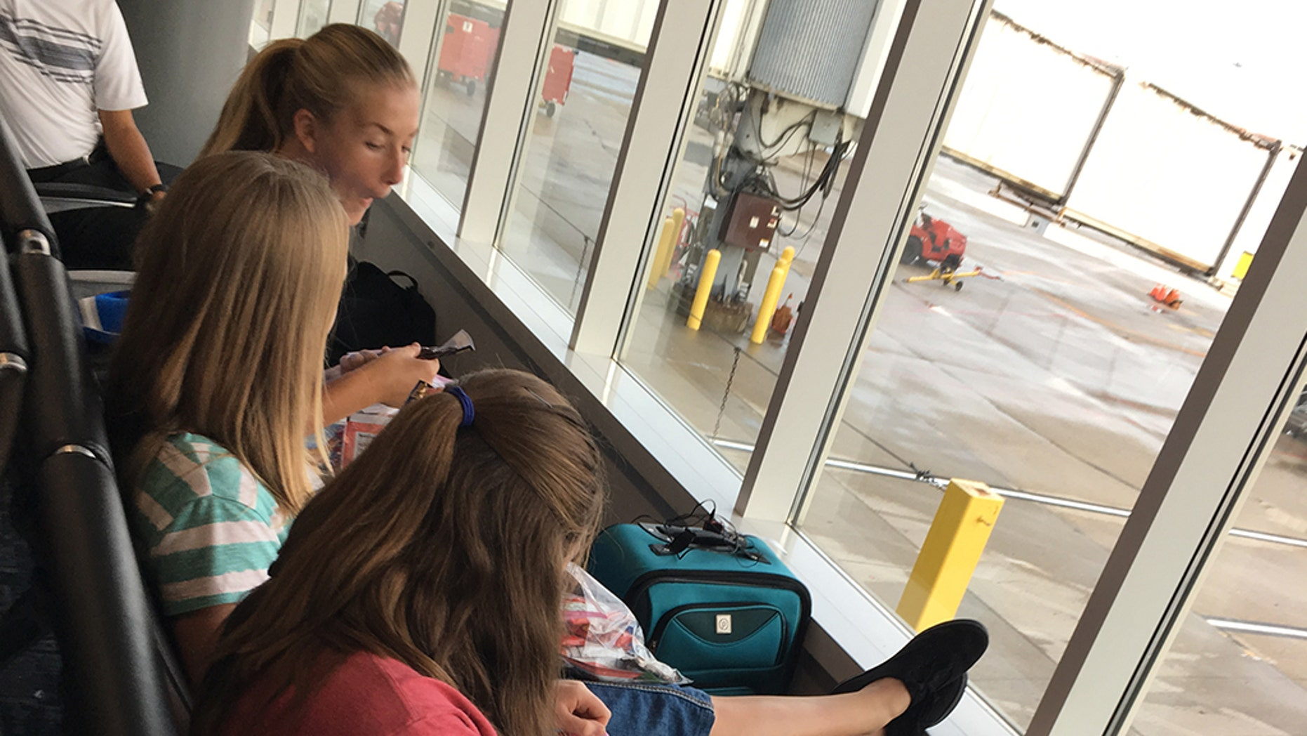 A group of 40 teenagers heading to Mexico for a mission trip were kept off their flight.