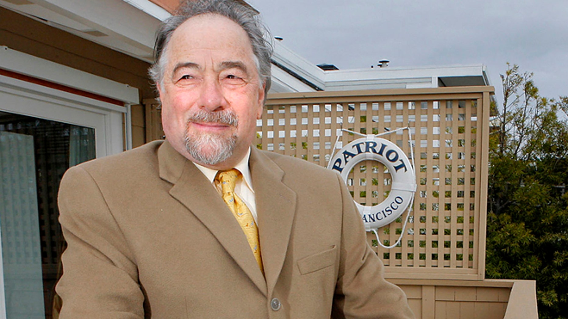 FILE: Michael Savage poses is seen in Tiburon, Calif.