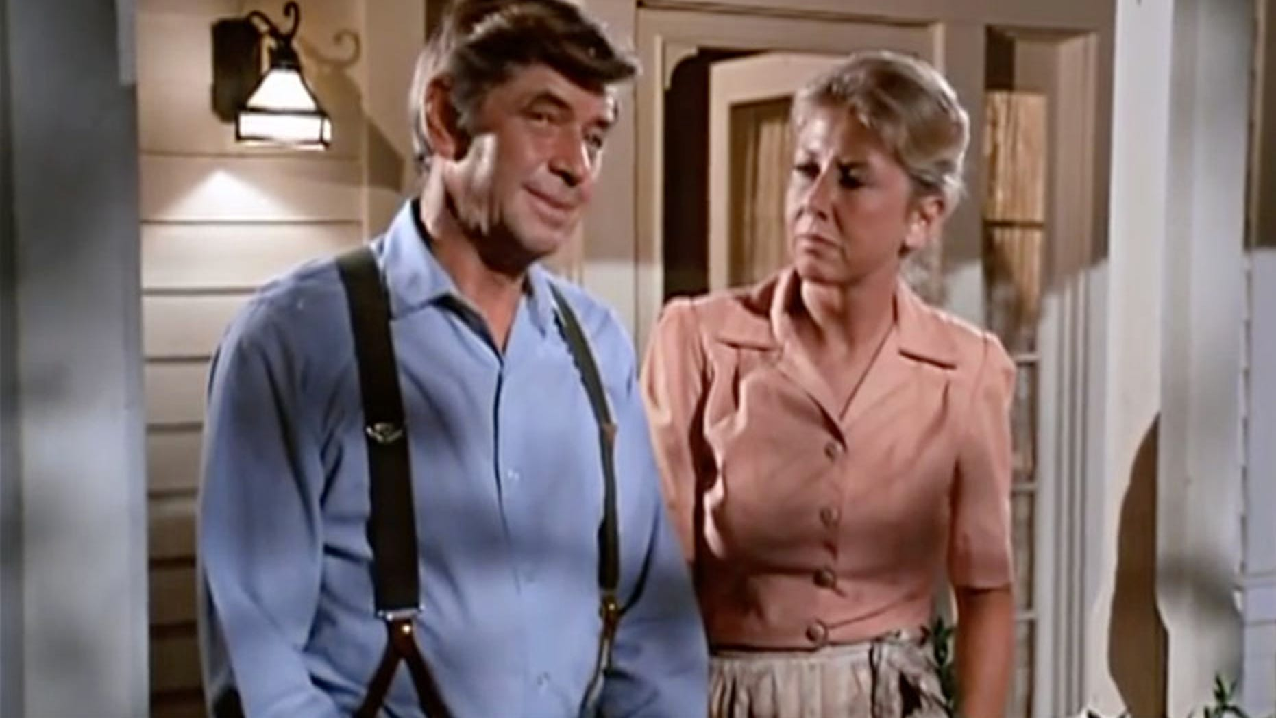 "Michael Larned (left) in ""The Waltons."""