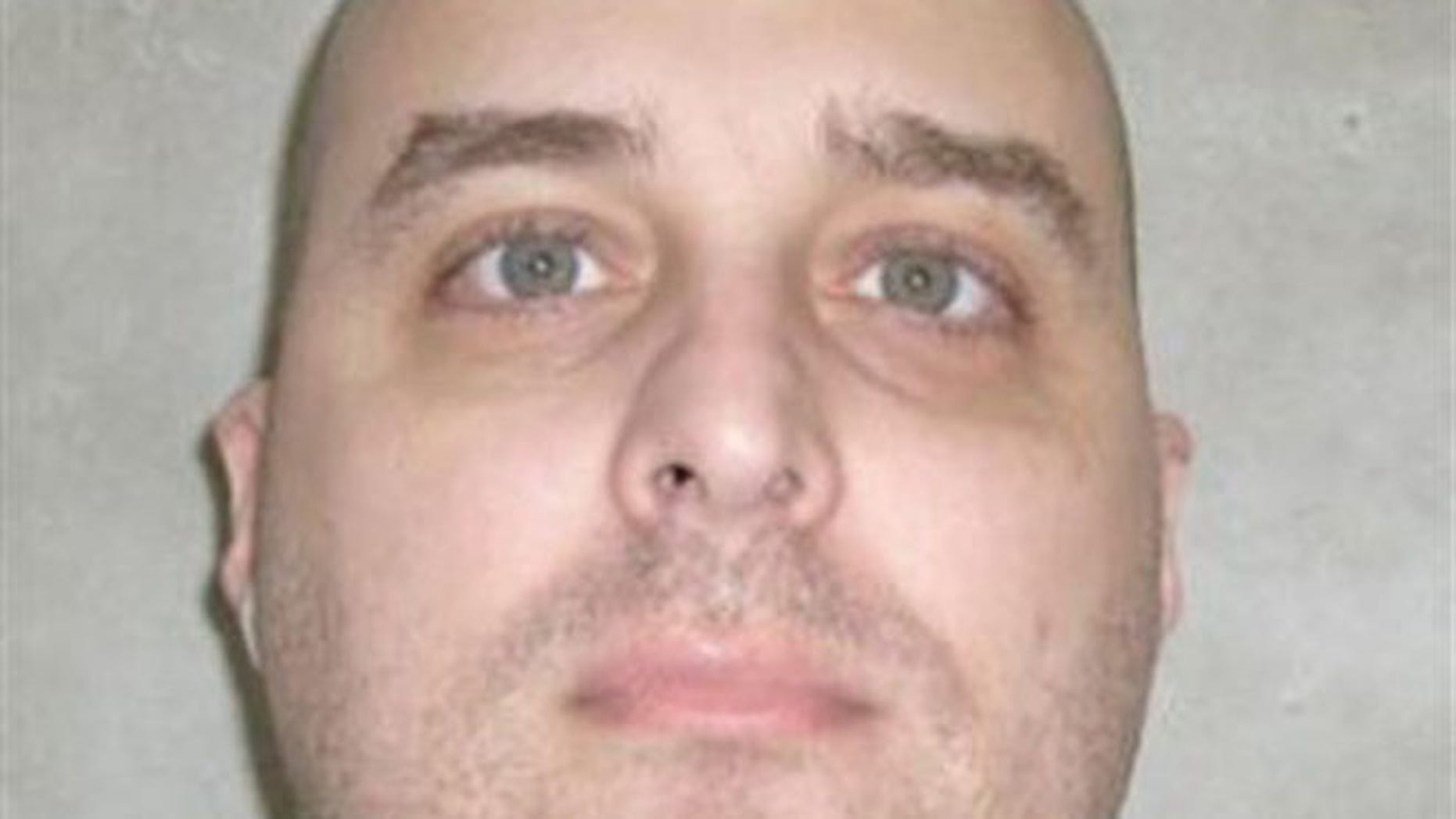 June 29, 2011: In this photo provided by the Oklahoma Department of Corrections, Michael E. Hooper is pictured in McAlester, Okla.