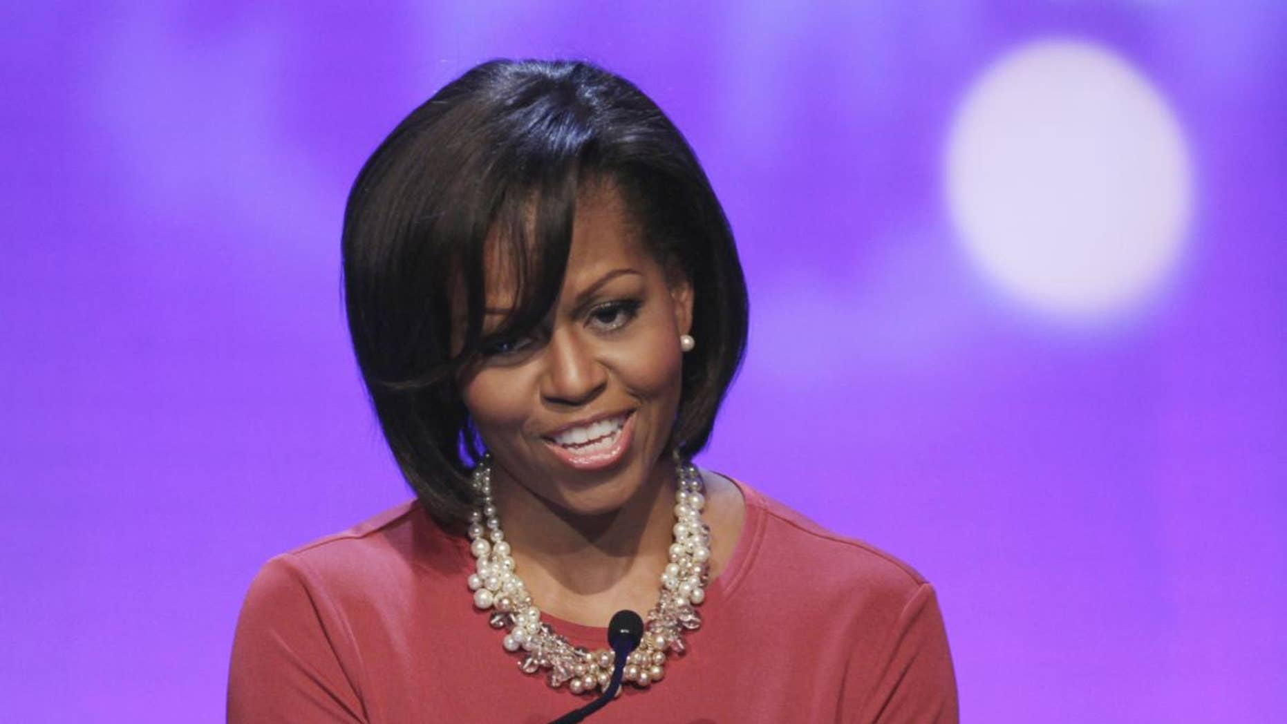 Michelle Obama (AP File Photo)