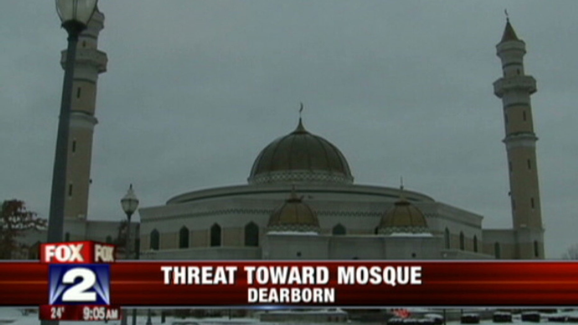 Authorities say 63-year-old Roger Stockham was found with explosives outside the Islamic Center of America in Dearborn, Mich. (MyFoxDetroit.com).