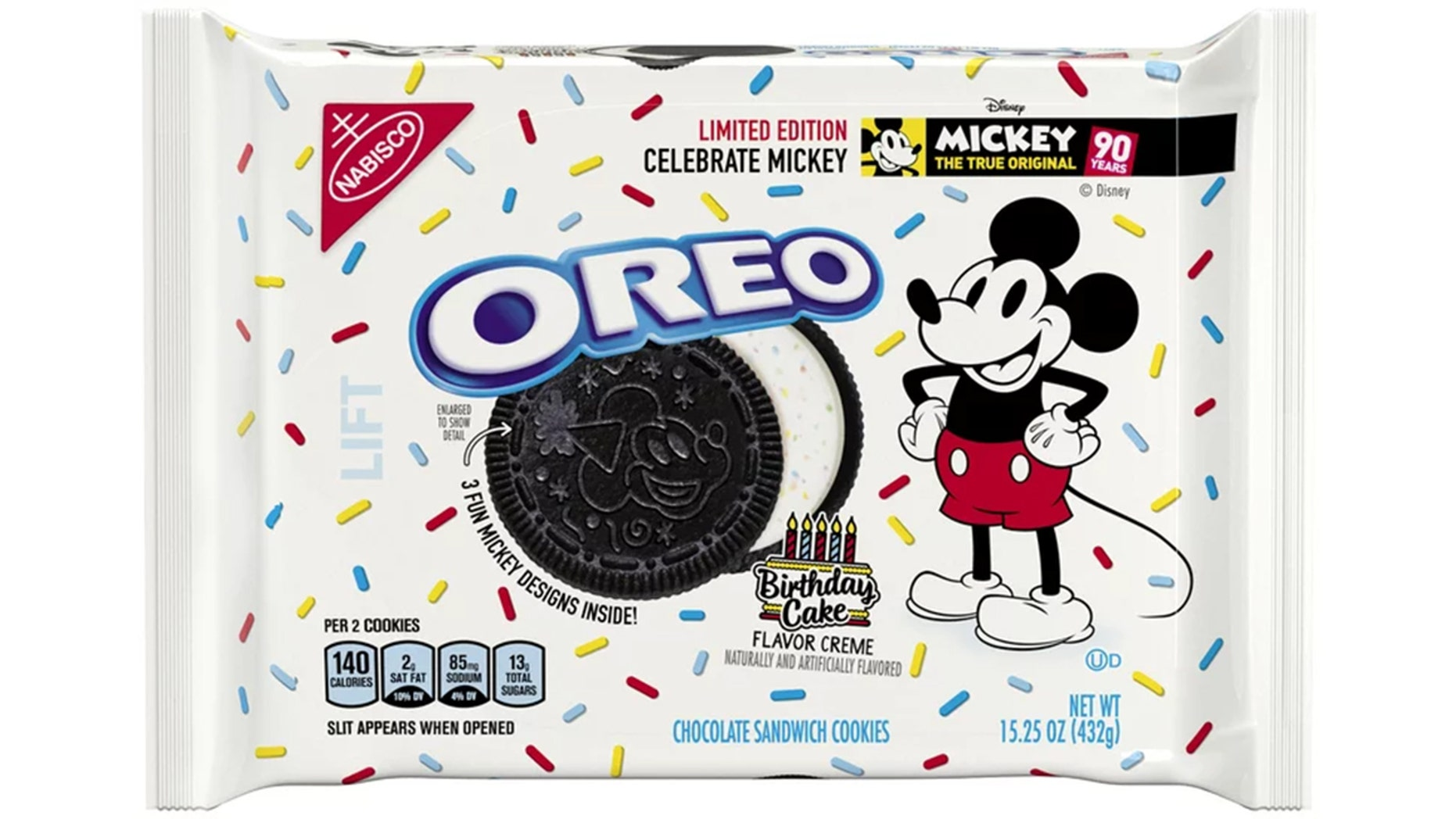 Oreo Print Ad Birthday Cake