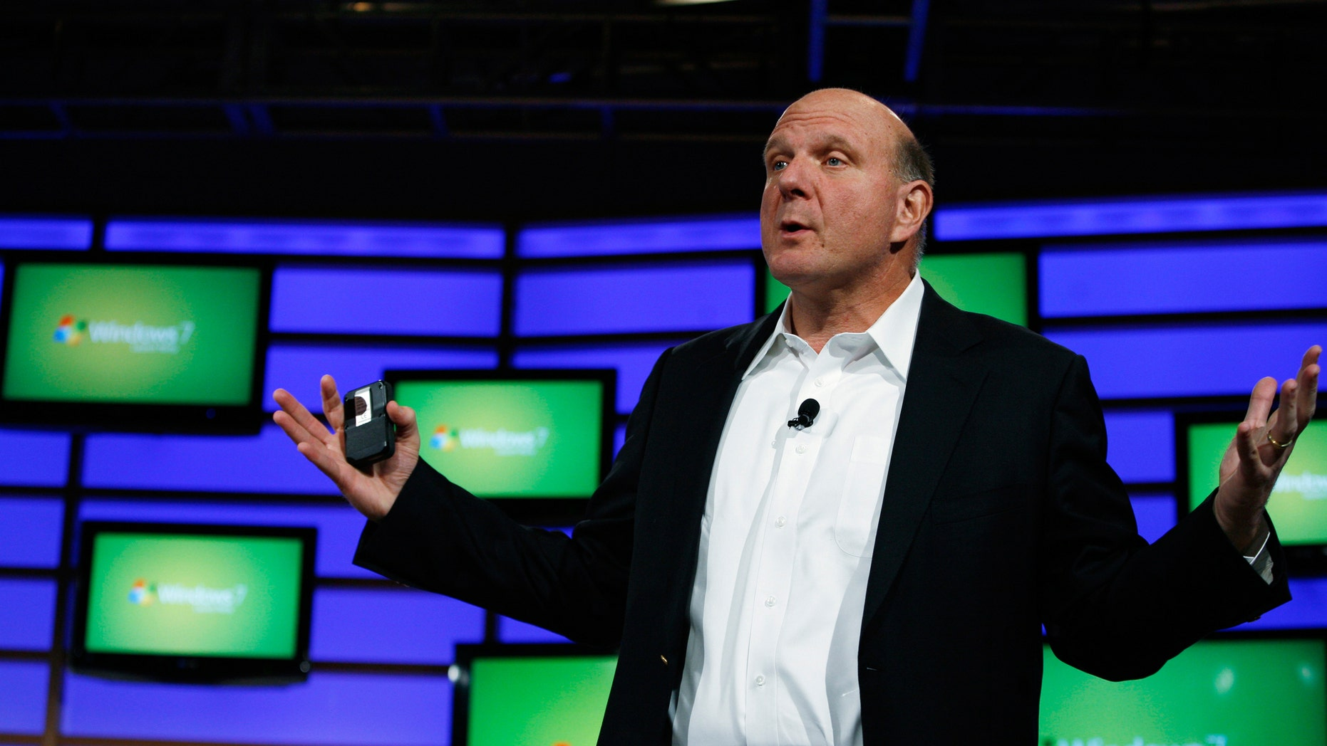 Microsoft CEO Steve Ballmer is riding Google's Android platform to success and profits.