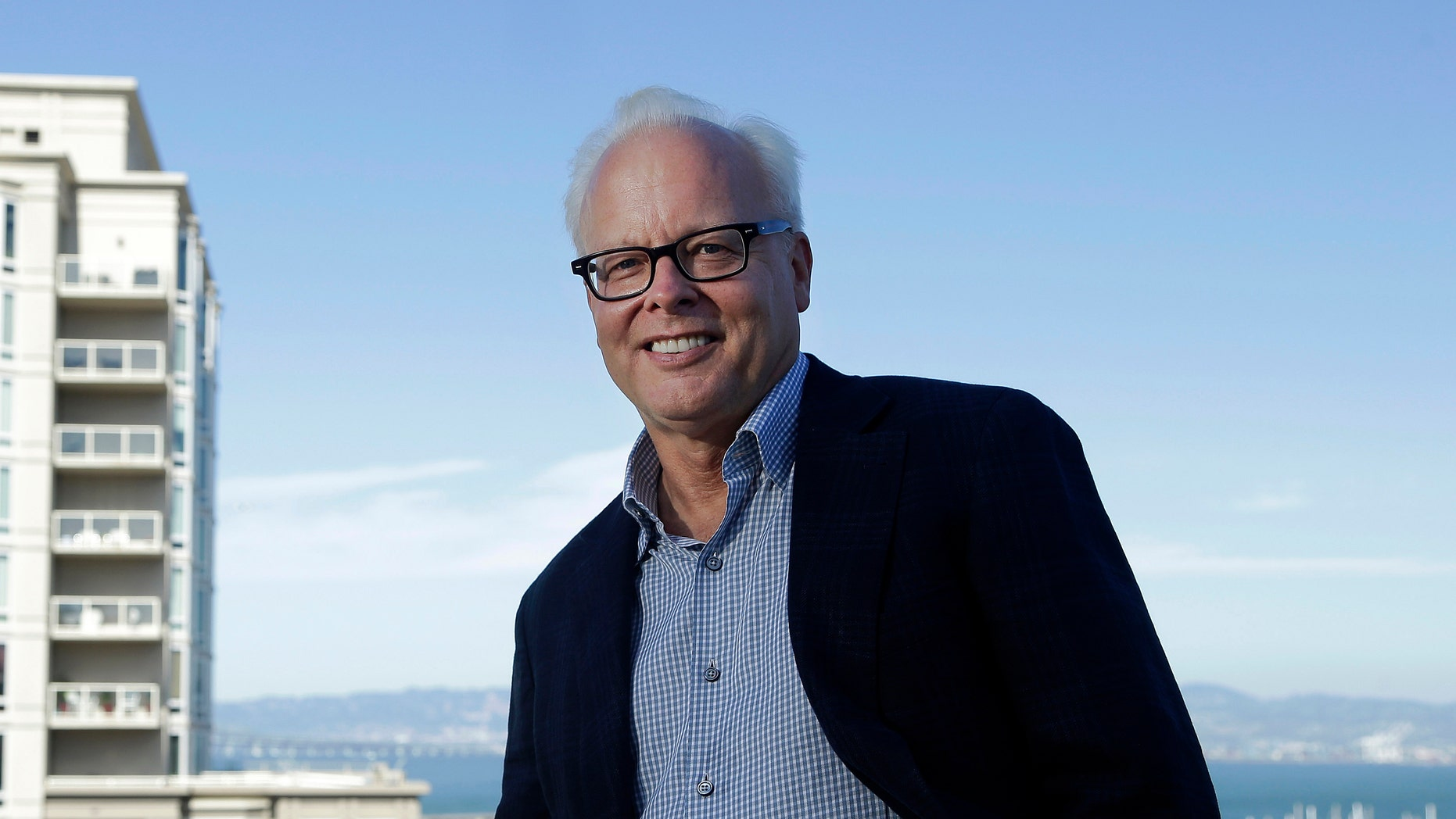 In this Sept. 16, 2014 photo, Ray Ozzie, of the new startup Talko, poses for photographs in San Francisco. Ozzie.