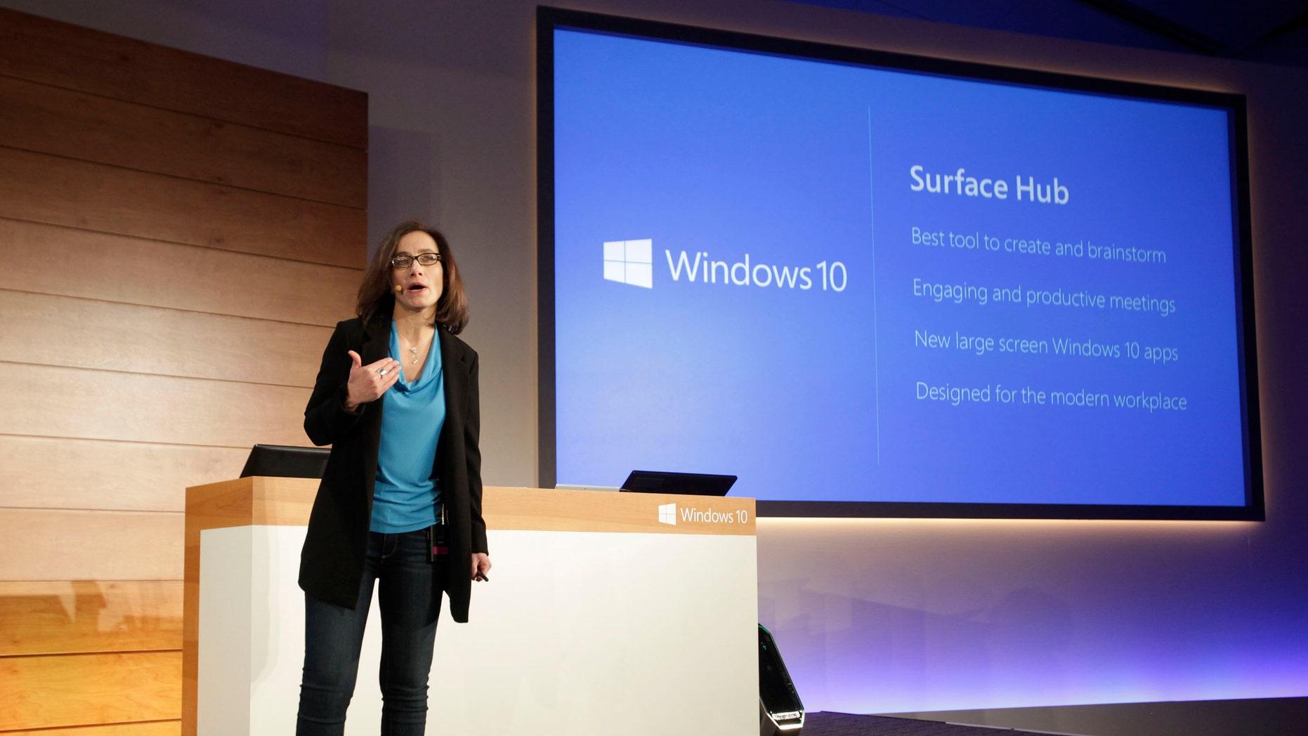 Microsoft Surface Hub looks to transform meetings | Fox News