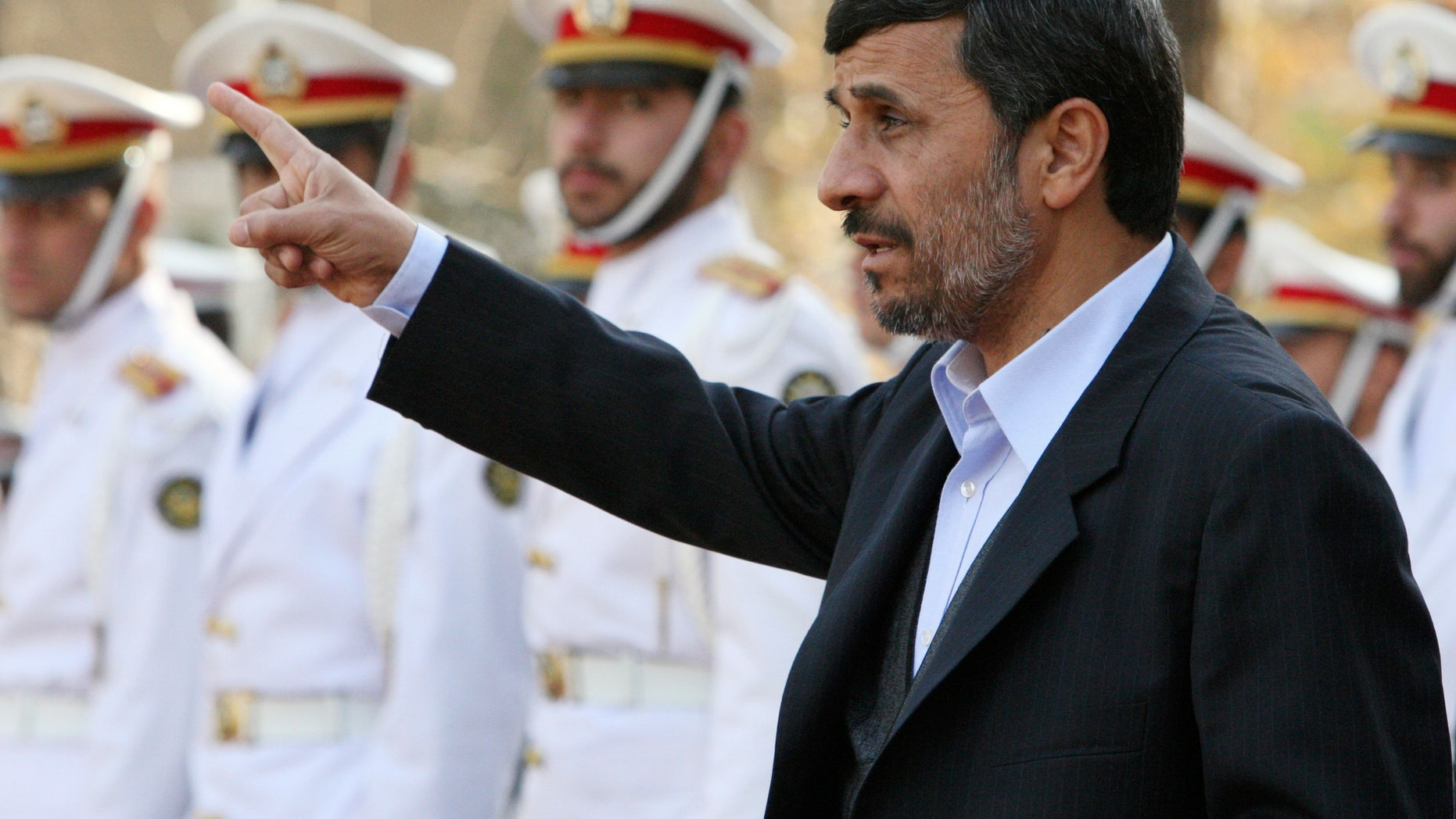 Iranian president Ahmadinejad shown here in Tehran, Iran Dec. 20 said Dec. 28 that the West's hostile policies could harm further talks over the country's disputed nuclear program.