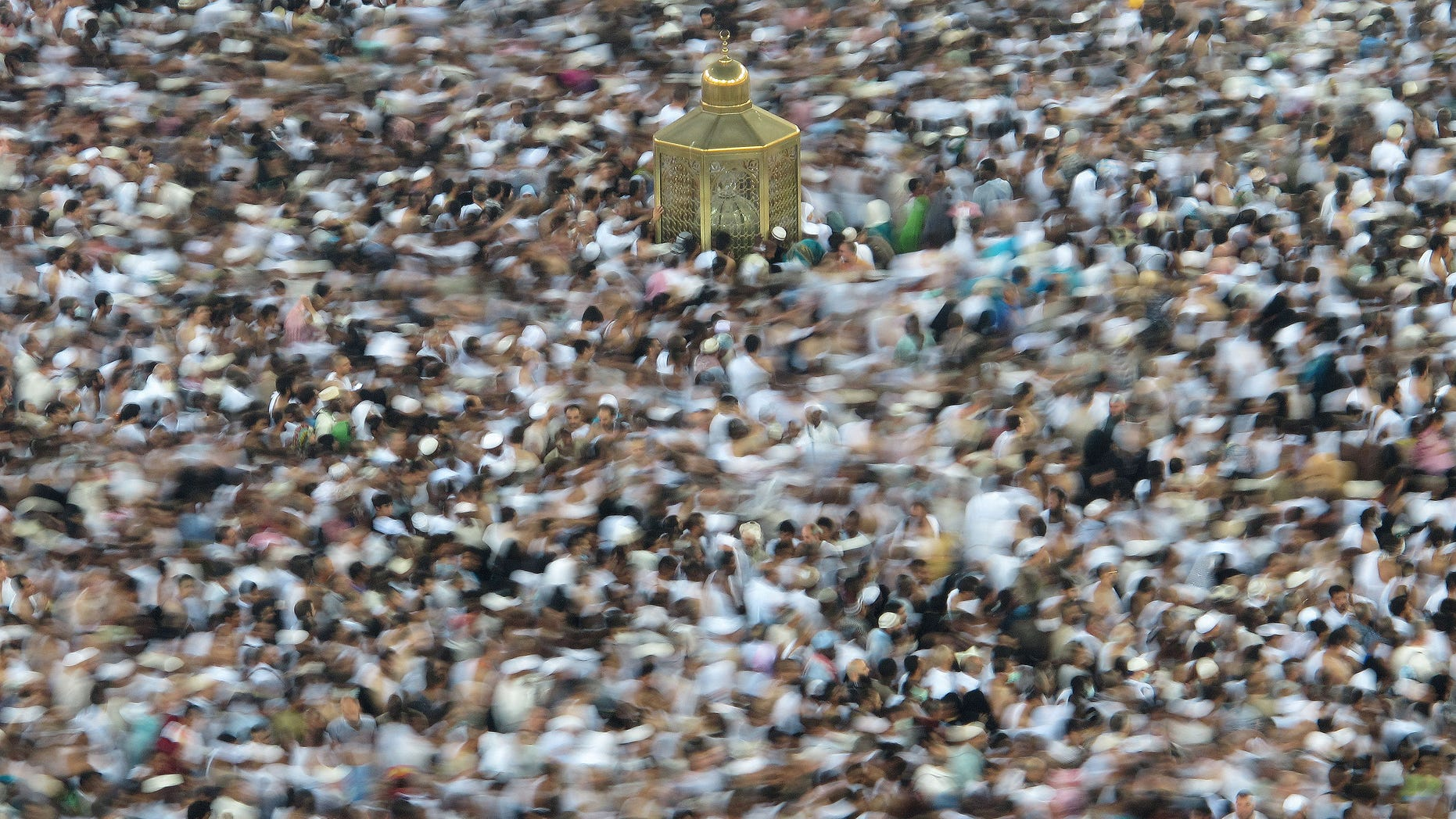 Oct. 23, 2012: Muslim pilgrims circle the Kaaba as pray inside the Grand mosque in the holy city of Mecca, Saudi Arabia.