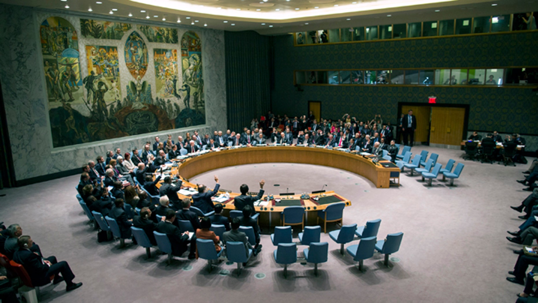 The United Nations Security Council.