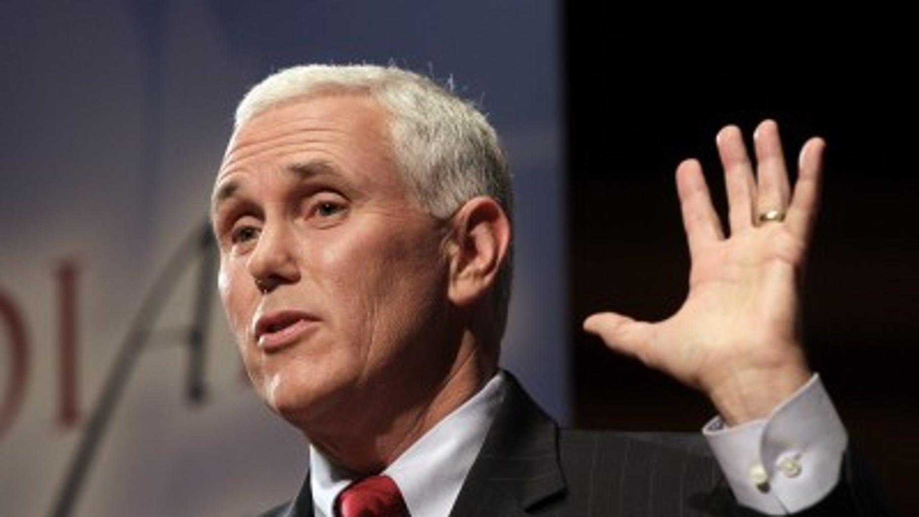 Mike Pence in 2012.