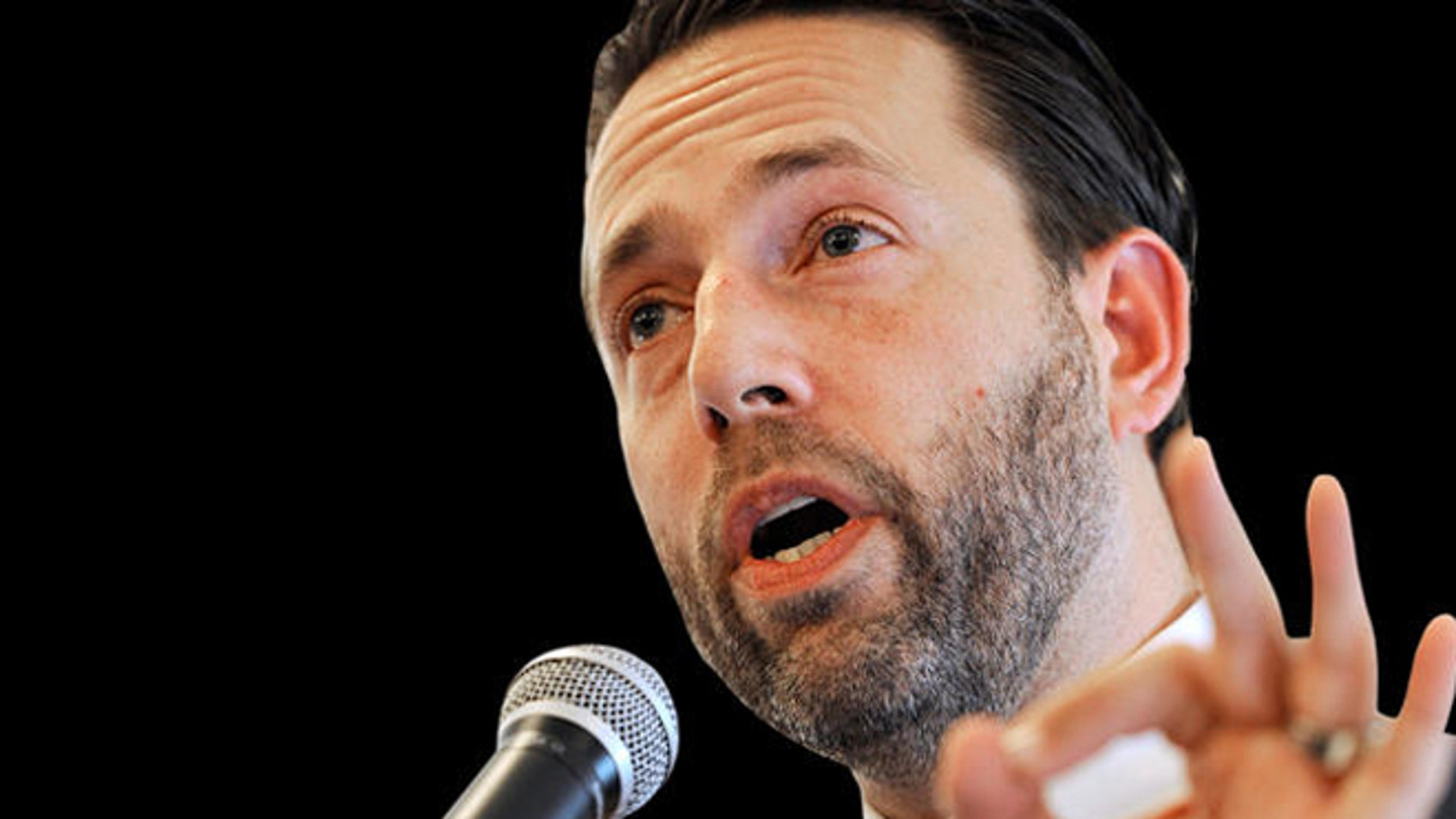 FILE: 2010: Tea Party favorite and Republican Joe Miller is running for a Senate seat in Alaska in 2014, after losing in the 2010 midterms.