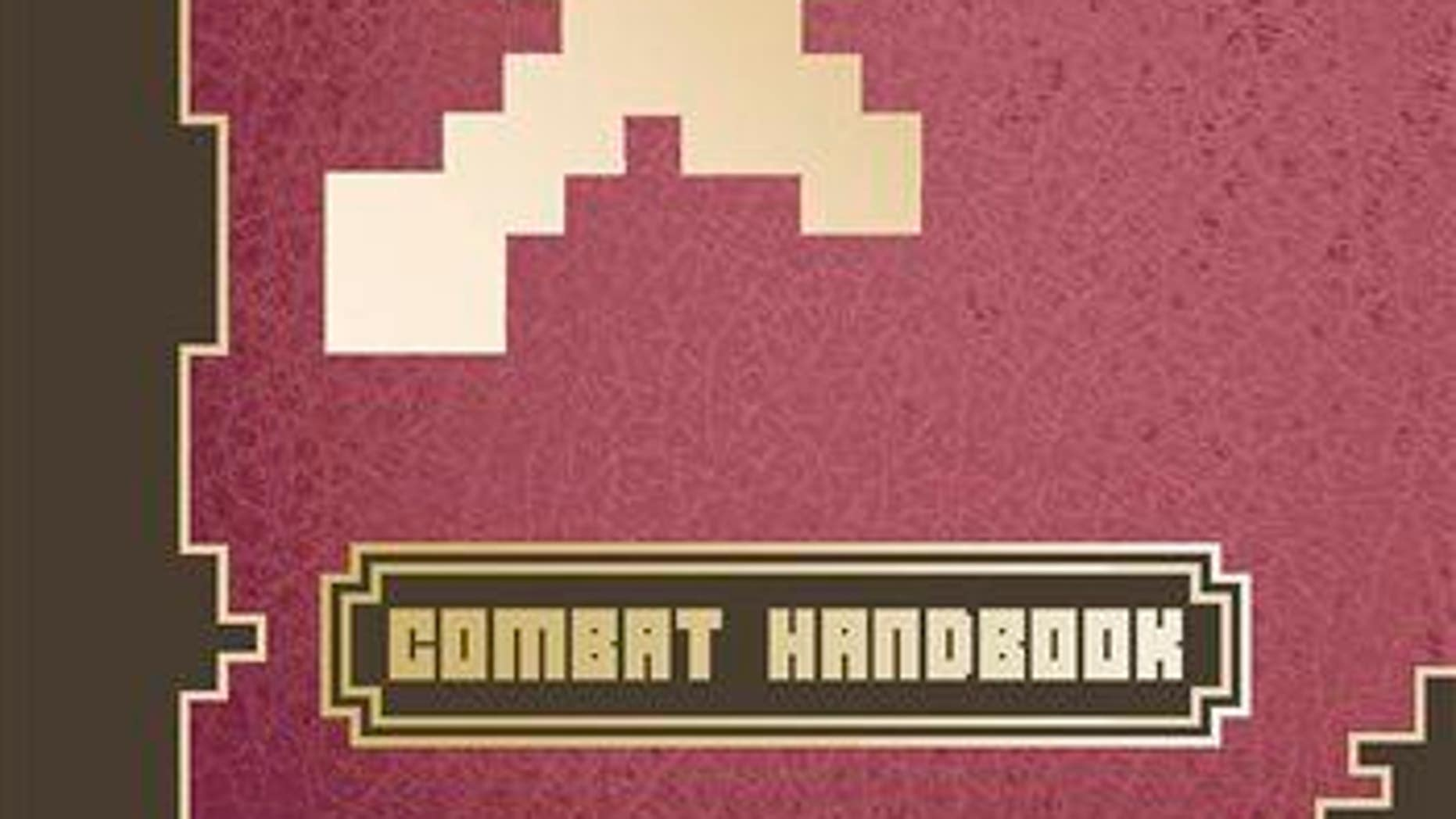 """This photo provided by Scholastic shows the cover of the book """"Minecraft: Combat Handbook."""""""