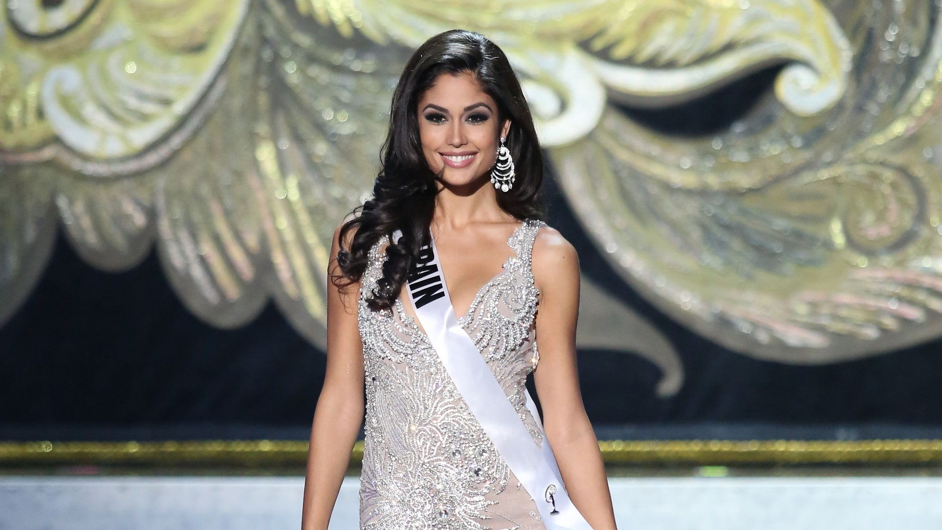 Patricia Yurena Rodriguez during the Miss Universe Pageant on November 9, 2013 in Moscow, Russia.