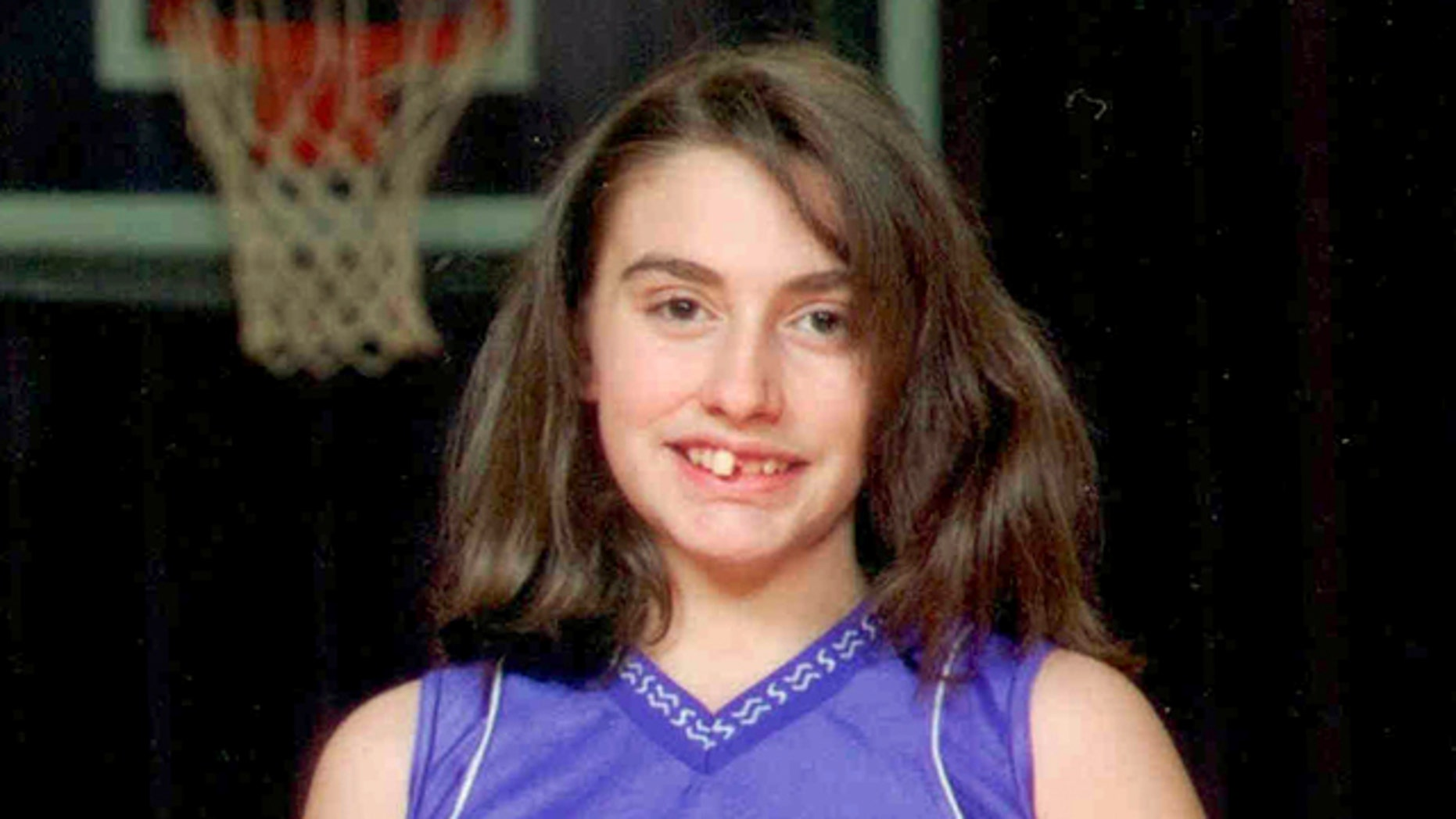 This 2010 photo provided by the New Hampshire State Police shows Celina Cass of West Stewartstown, N.H., in a basketball team uniform in Canann, Vt. Law enforcement officials are searching for Cass, who they say was last seen at her home the night of July 25th.