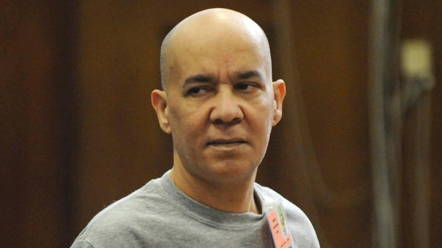 Nov. 15, 2012: In this file photo, Pedro Hernandez appears in Manhattan criminal court in New York. (AP)