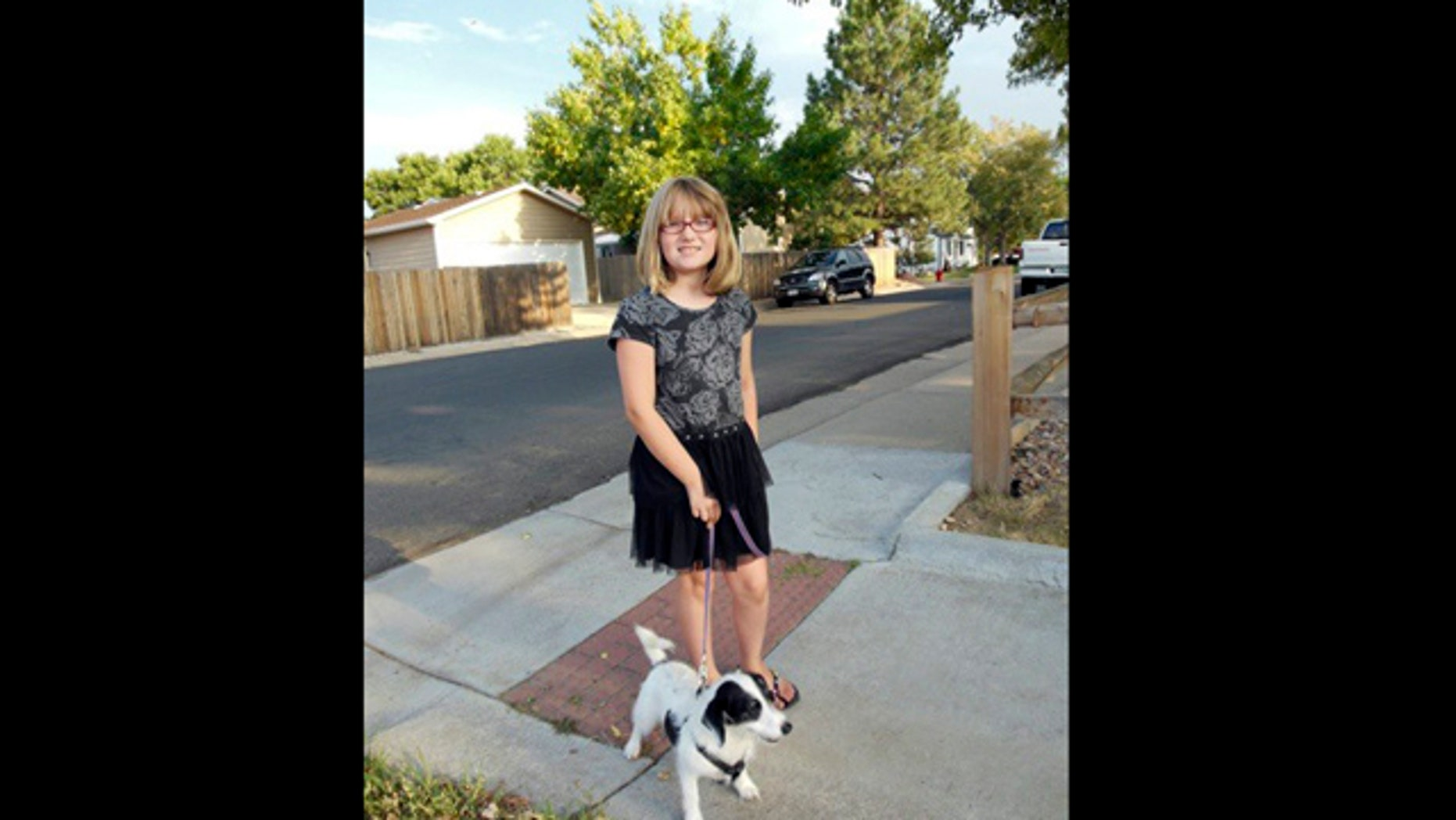 This image provided by the Westminster Colorado Police Department shows Jessica Ridgeway. Authorities looking for the 10-year-old Colorado girl who disappeared days ago after leaving for school are planning to finish scouring open fields and resume searching the fifth-grader's suburban Denver neighborhood on Tuesday, Oct. 9, 2012.