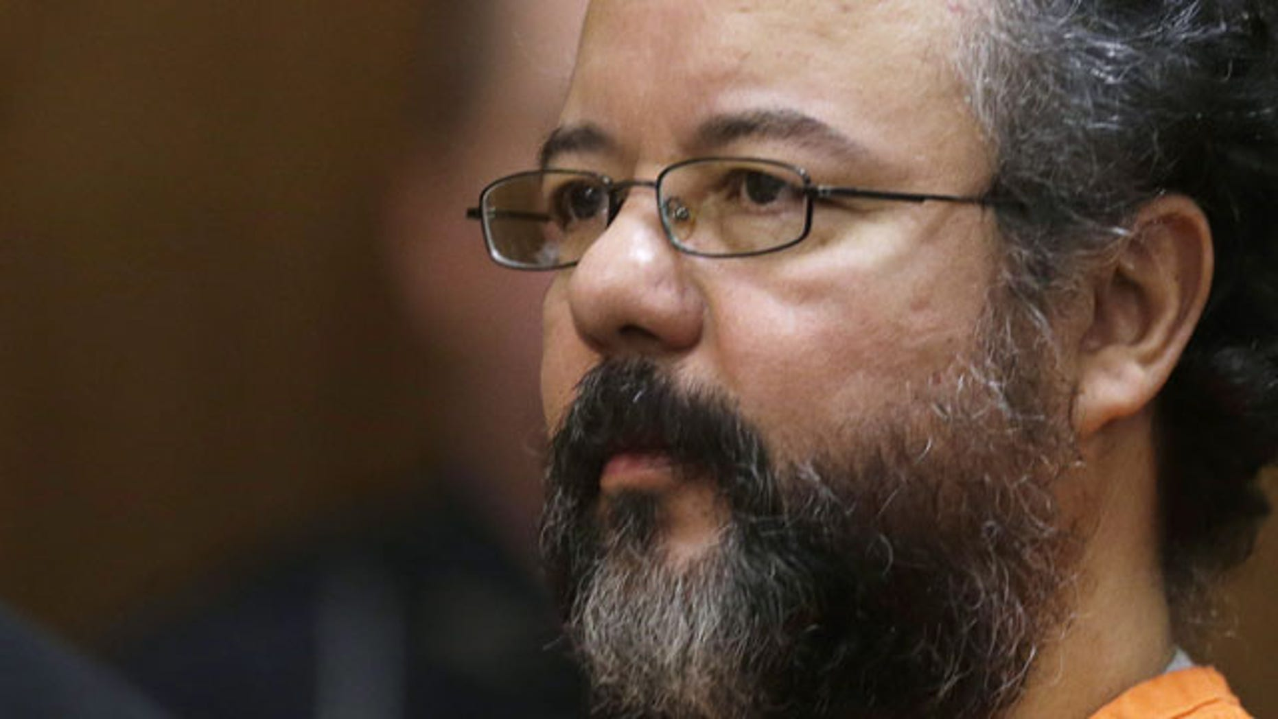 FILE - This Aug. 1, 2013 file photo shows Ariel Castro in the courtroom during the sentencing phase in Cleveland. (AP Photo)