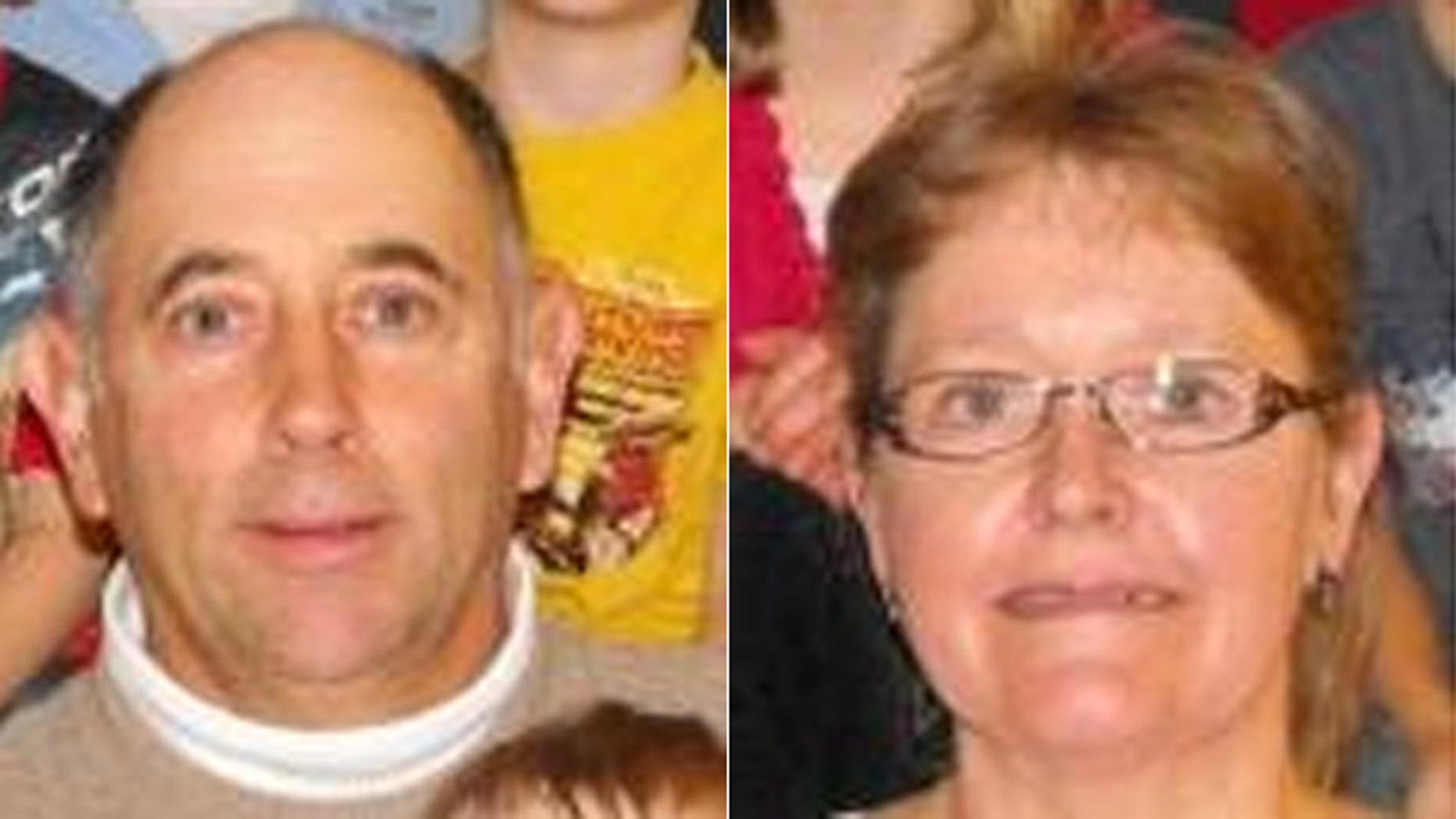 UNDATED: Albert Chretien and wife Rita are shown.