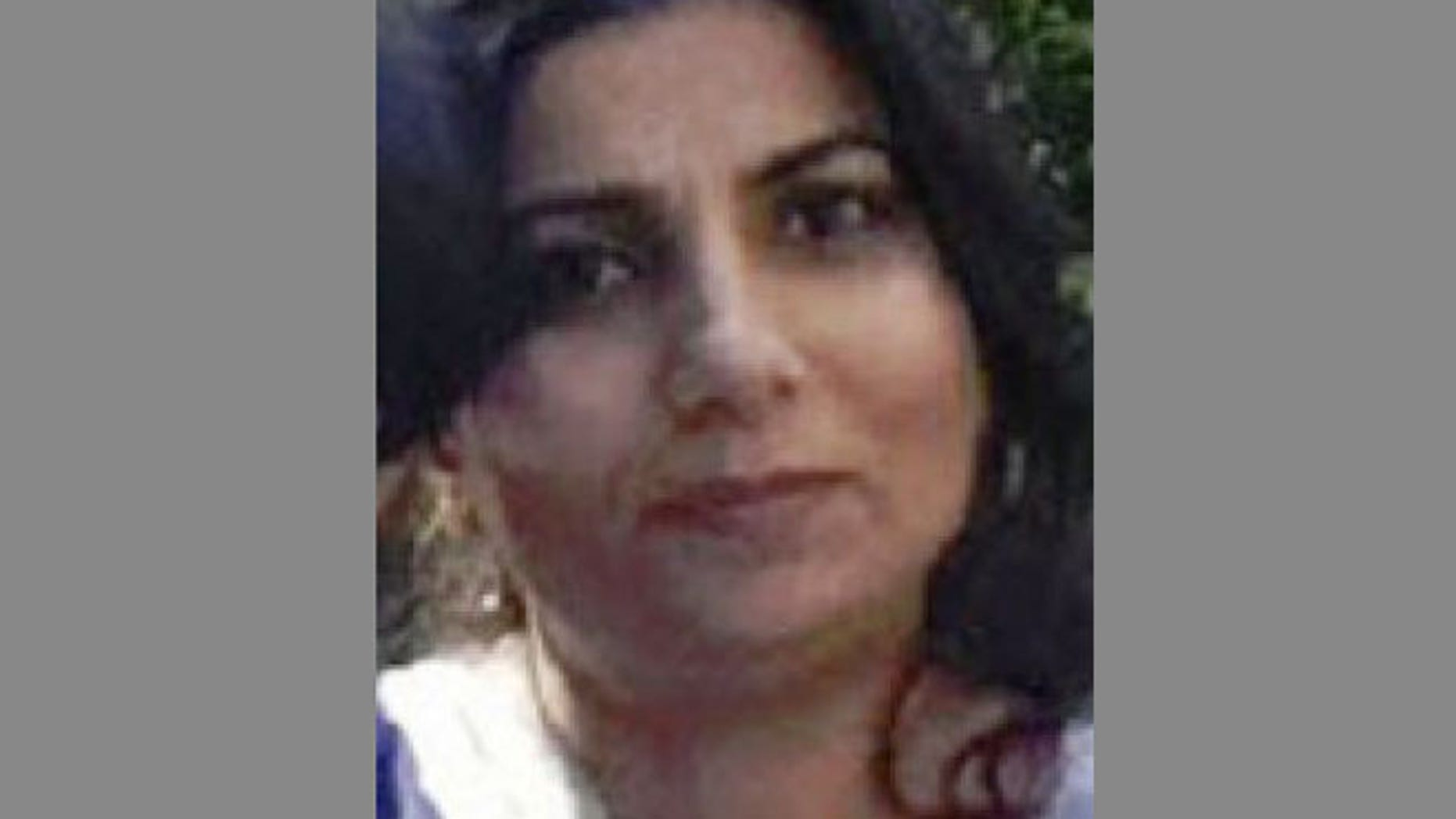 In this photo downloaded from the New York State Police website, Sarwat Lodhi, is shown. Lodhi is missing and police fear that she may be injured and a fourth victim after three members of her immediate family were found dead from gunshot wounds in Pleasant Valley, 75 miles north of New York City.