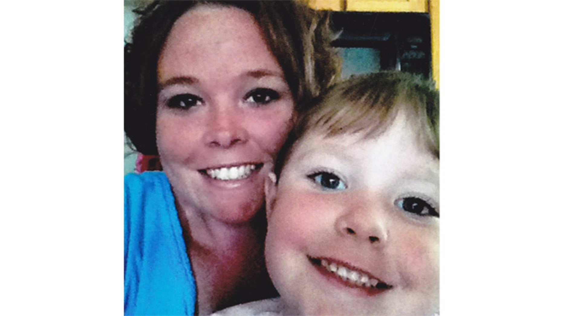 In this undated photo released by Chariton County Sheriff's office, Rachel Koechner and her 4-year-old daughter Zoee Sandner are shown.