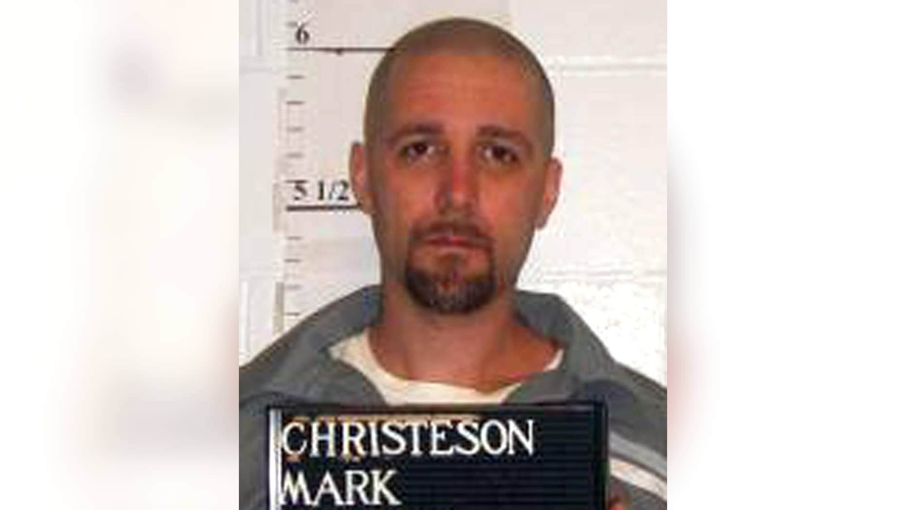 In this April 21, 2014 photo provided by the Missouri Department of Corrections is Mark Christeson who is scheduled to die by injection for killing a south-central Missouri mother and her two children in February 1998. (AP Photo/Missouri Department of Corrections)