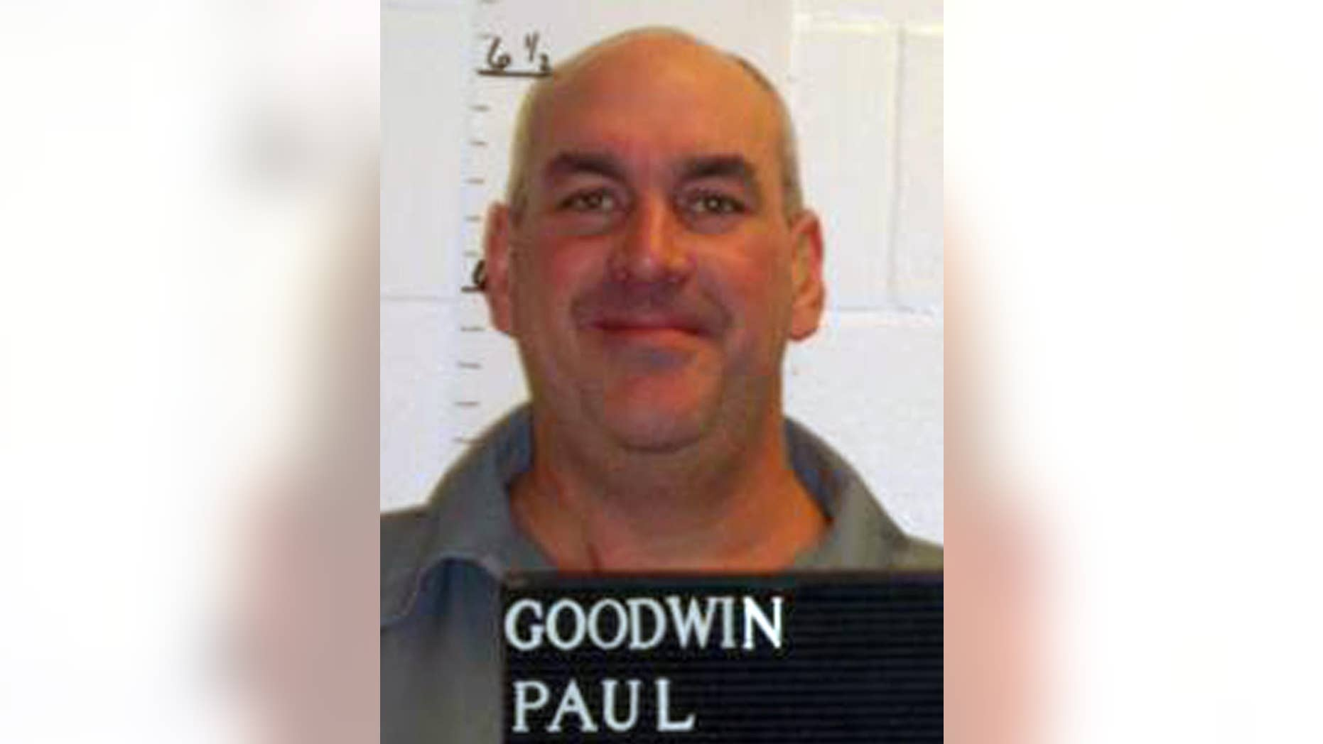 In this Feb. 10, 2014 photo provided by the Missouri Department of Corrections is Paul Goodwin who was convicted of killing a 63-year-old St. Louis County woman with a hammer in 1998. (AP Photo/Missouri Department of Corrections)