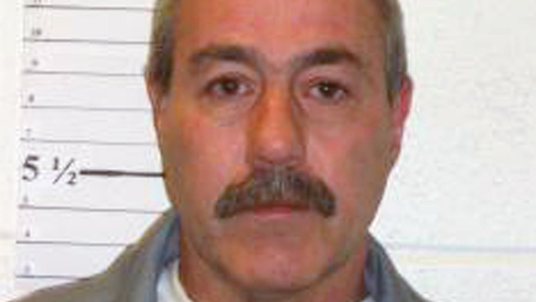 This Dec. 1, 2013 photo provided by the Missouri Department of Corrections shows David Zink, who was convicted of abducting and killing 19-year-old Amanda Morton in 2001. (Missouri Department of Corrections via AP)