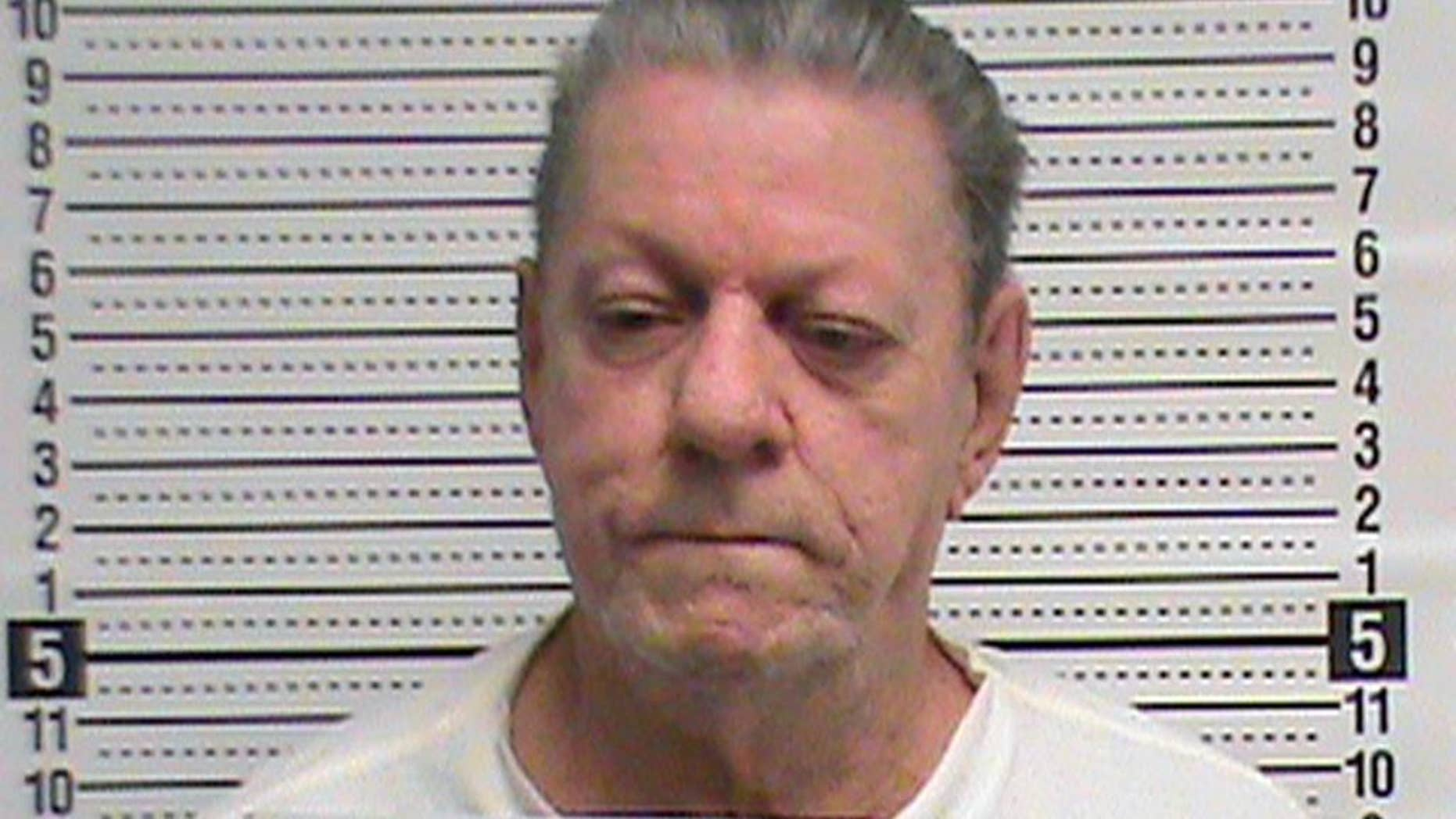 In this March 6, 2015 photo provided by The Missouri Department of Corrections is Cecil Clayton, 74, Missouri's oldest death row inmate. Clayton was convicted of gunning down Christopher Castetter, a sheriff's deputy in rural southwest Missouri's Barry County in 1996. (AP Photo/Missouri Department of Corrections)