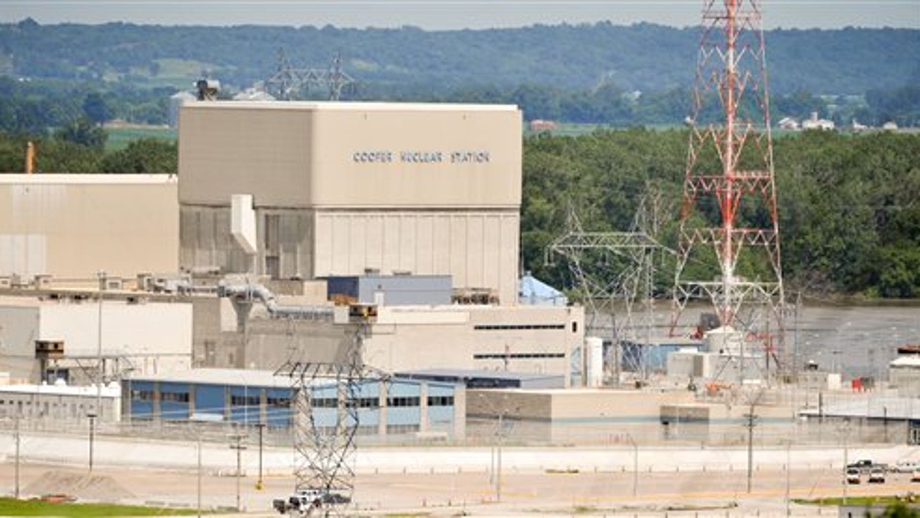 June 19: The Cooper Nuclear Power Station is seen near Brownville, Mo. When the Missouri River reached 42.5 feet, or 899 feet above sea level Sunday morning, the Nebraska Public Power District issued a flooding alert for its nuclear power plant, Cooper Nuclear Station.