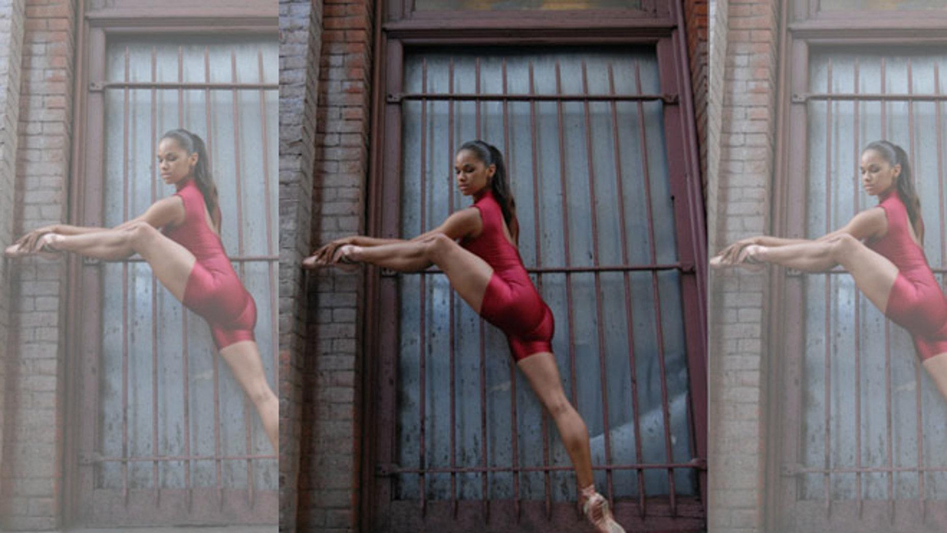 Sensational Stretching Beauty Ballerina Misty Copeland On Her Body Machost Co Dining Chair Design Ideas Machostcouk