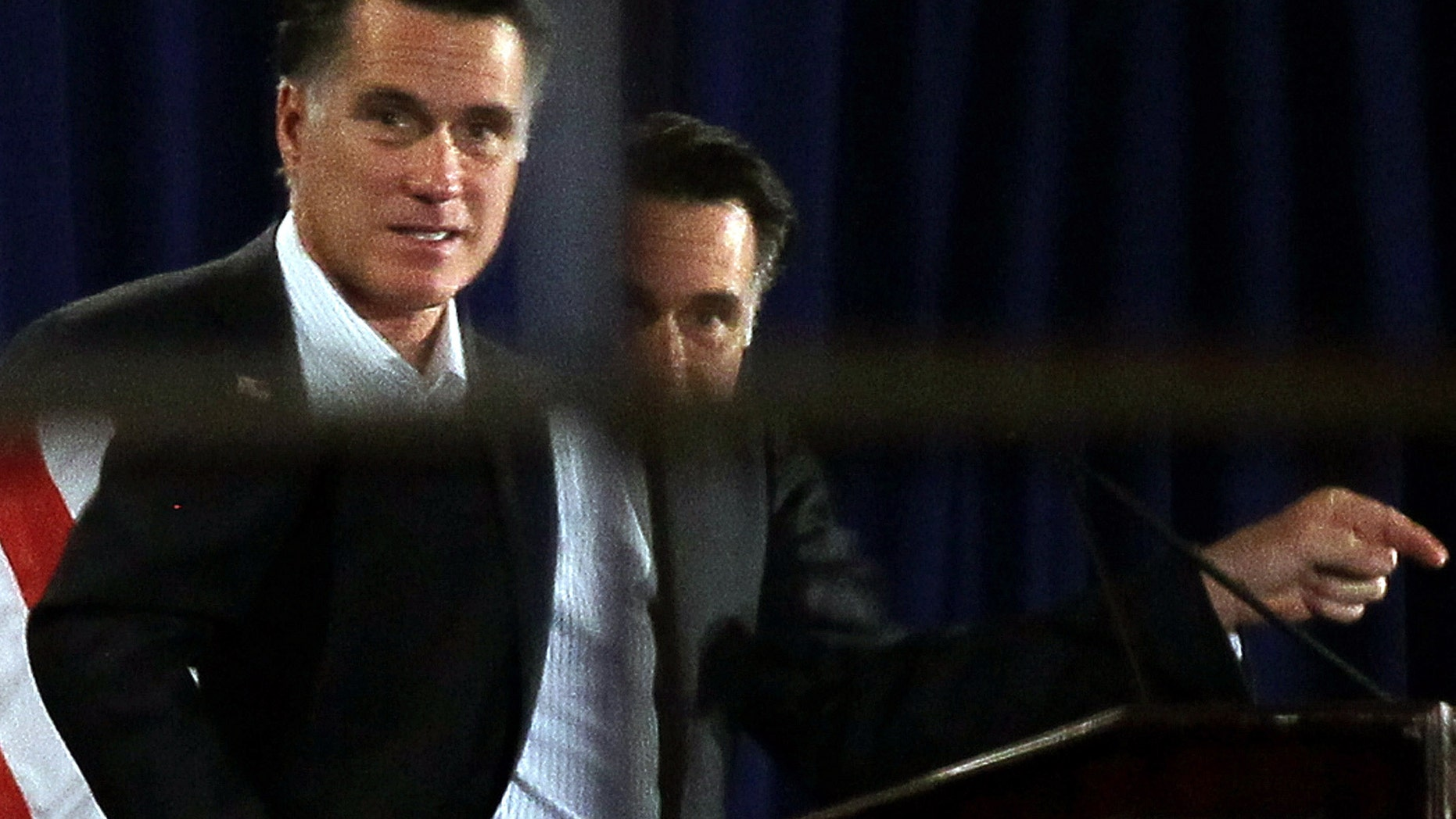 Republican presidential candidate, former Massachusetts Gov. Mitt Romney. (Photo by Justin Sullivan/Getty Images)