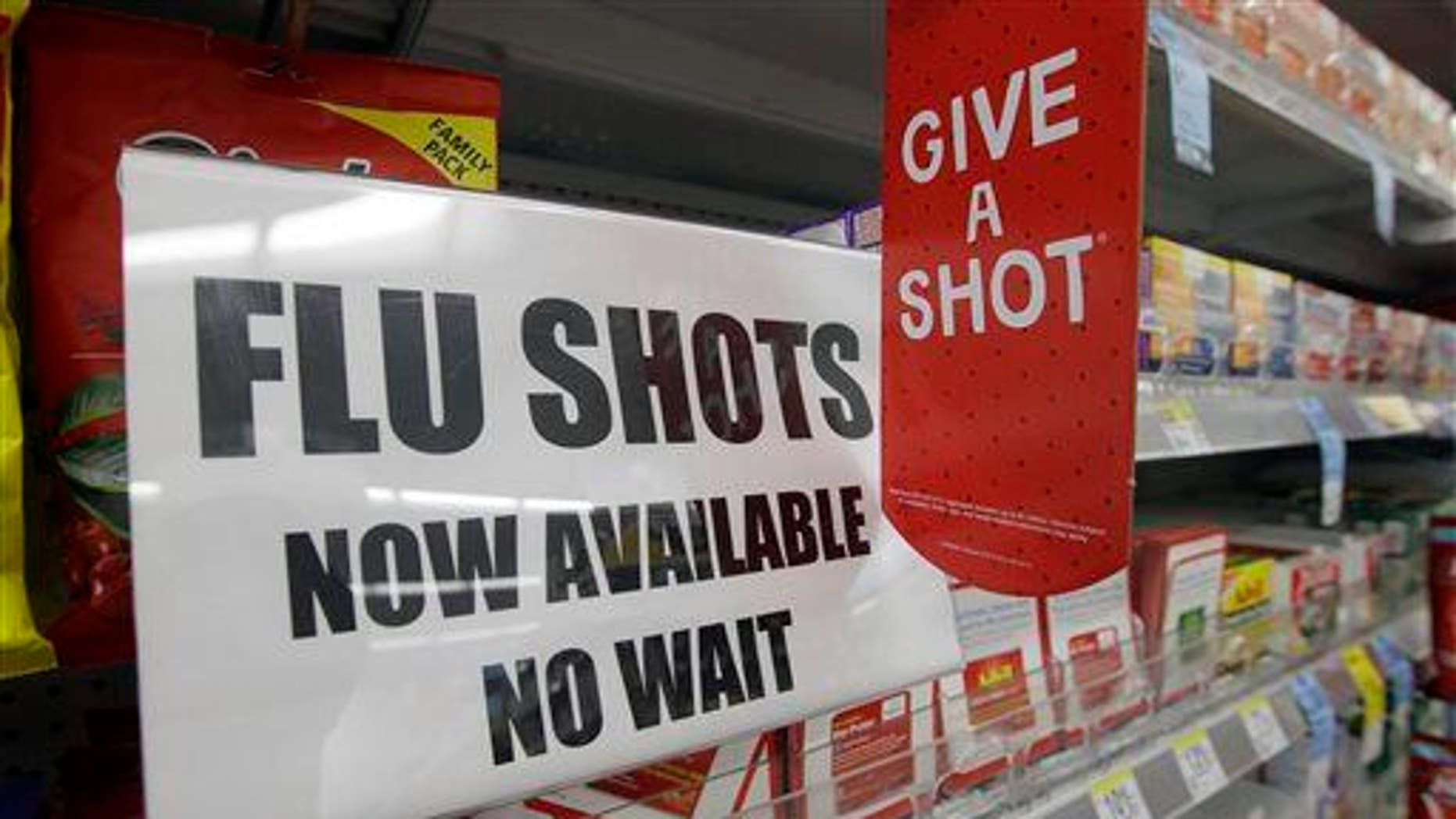 Yesenia Pacheco was not expecting to get a flu shot.