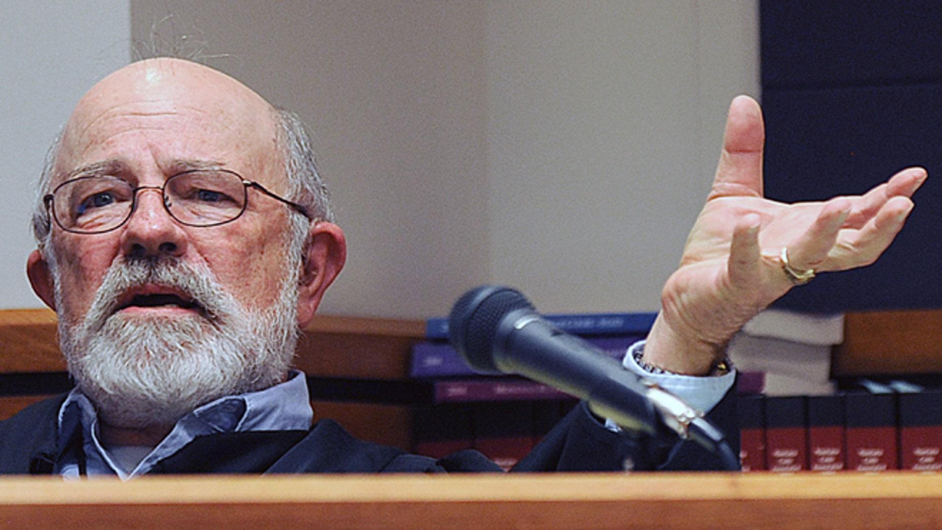 Montana District Judge G. Todd Baugh.