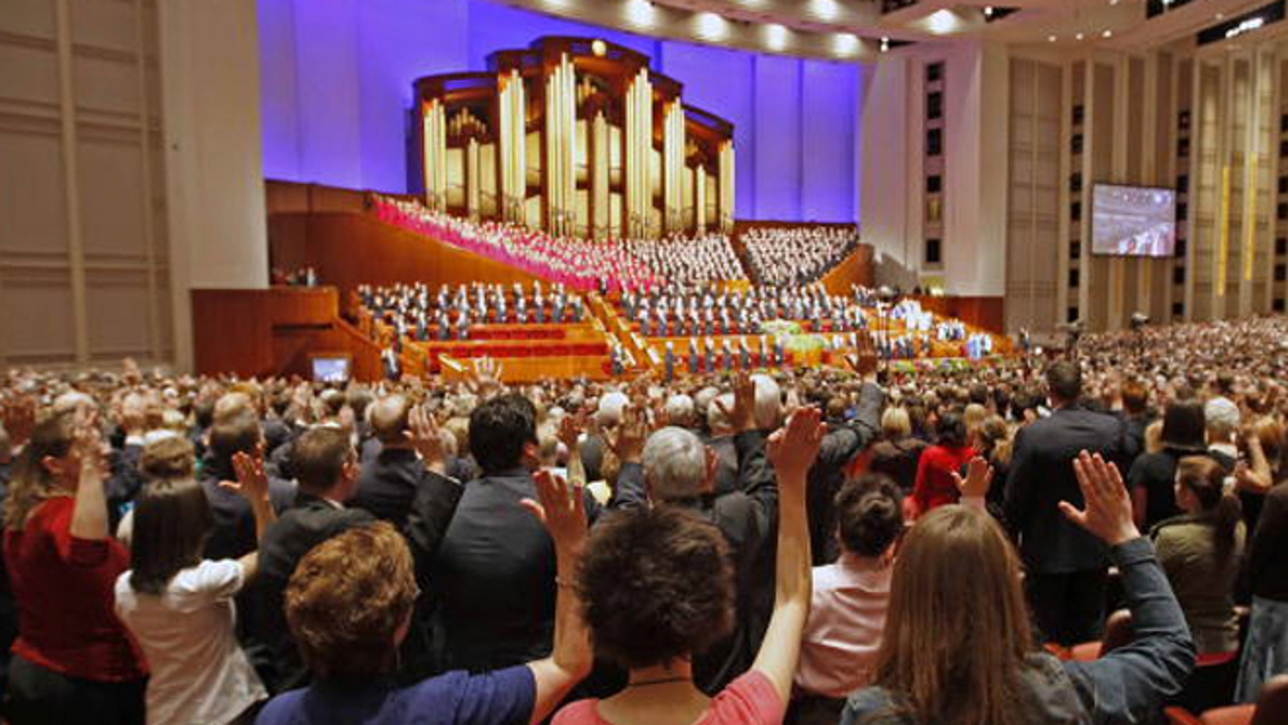 Those part of the Mormon Church are usually expected to vote Republican, but who will they pick this year? (Photo by George Frey/Getty Images)
