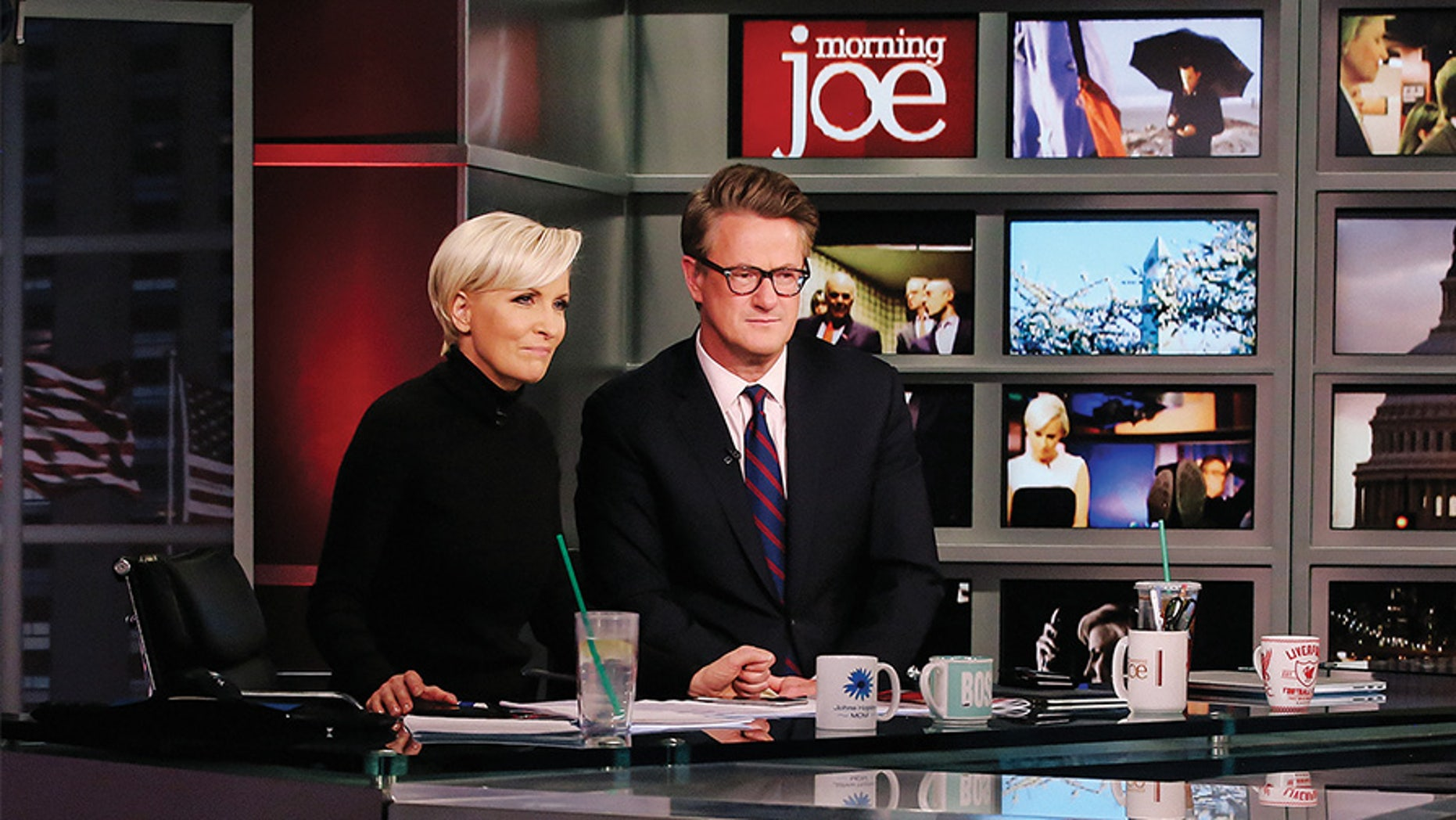 MSNBC's 'Morning Joe' hosts tired to fool their viewers with pre-taped post-Thanksgiving show.