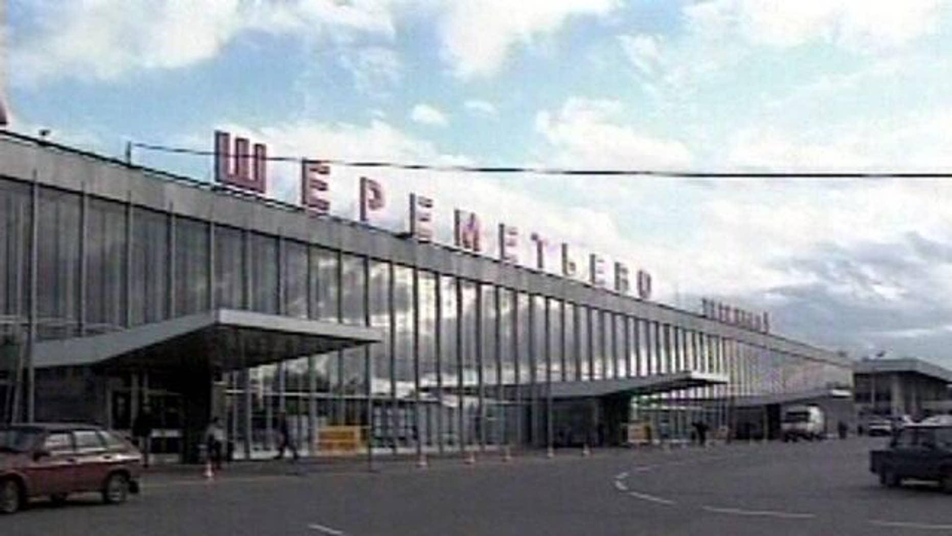heremetyevo airport, Moscow, Russia.