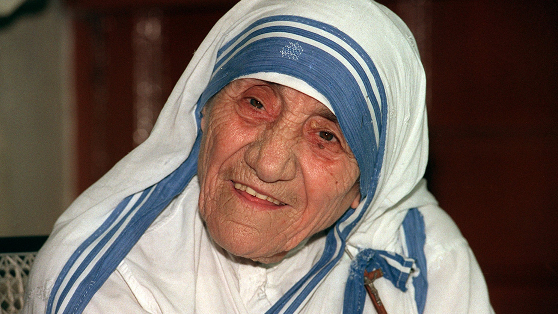 "Mother Teresa started the Missionaries of Charity order in Kolkata in 1950 and it later set up hundreds of shelters that care for some of the world's neediest, people she described as ""the poorest of the poor."""