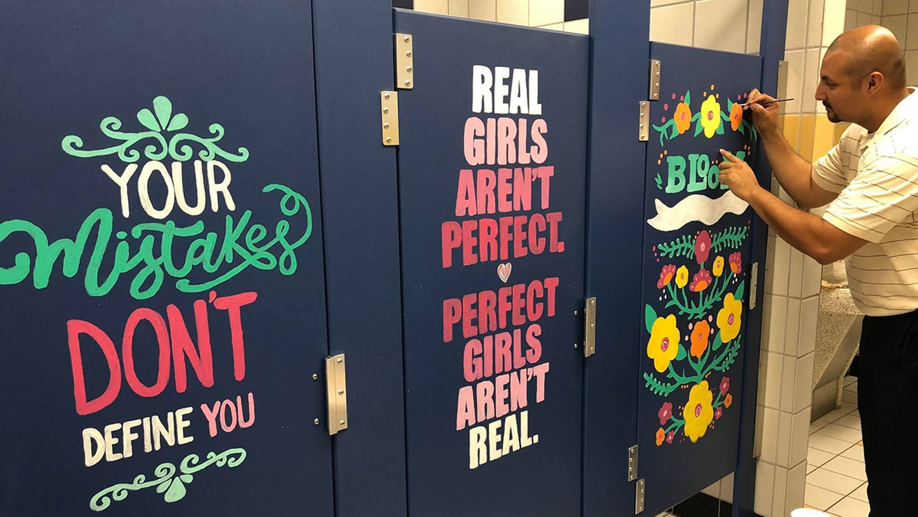 """""""One of the goals was to create a culture of positivity and welcoming to our students, a place that our students and teachers want to be a part of."""""""