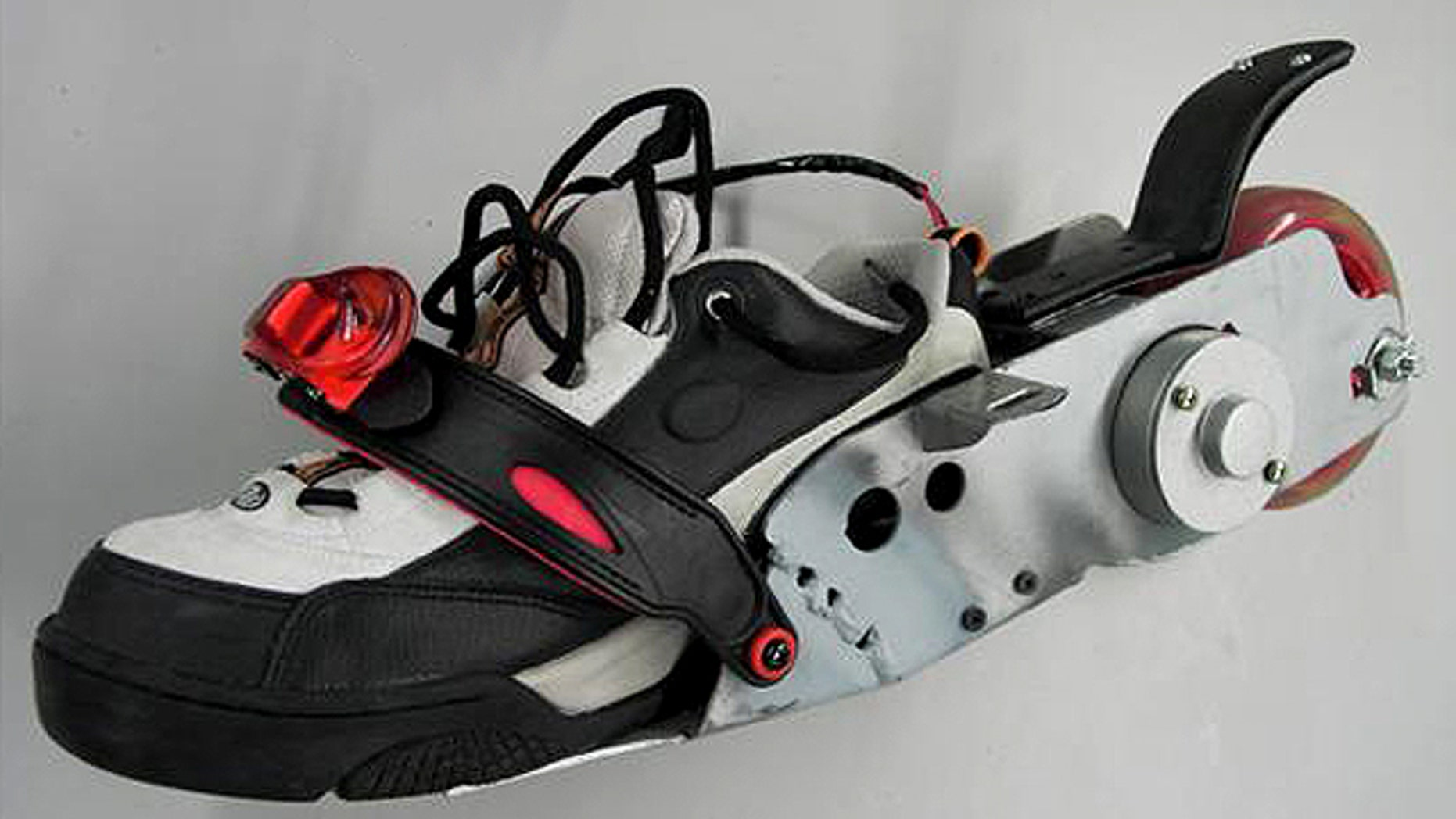 Treadways -- motorized electric sneakers -- are designed designed to reduce traffic by facilitating a new form of mobility.