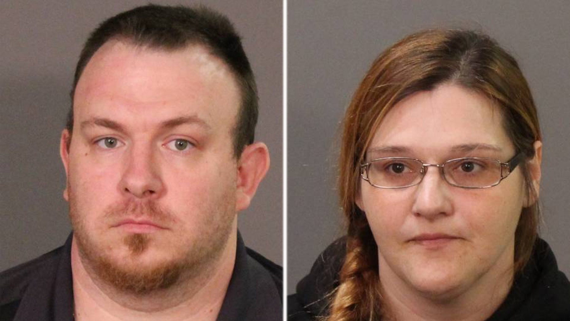 Martin and Jolene LaFrance, both 35, were arrested Friday and charged with one count each of scheme to defraud in the first degree and endangering the welfare of a child, authorities said.
