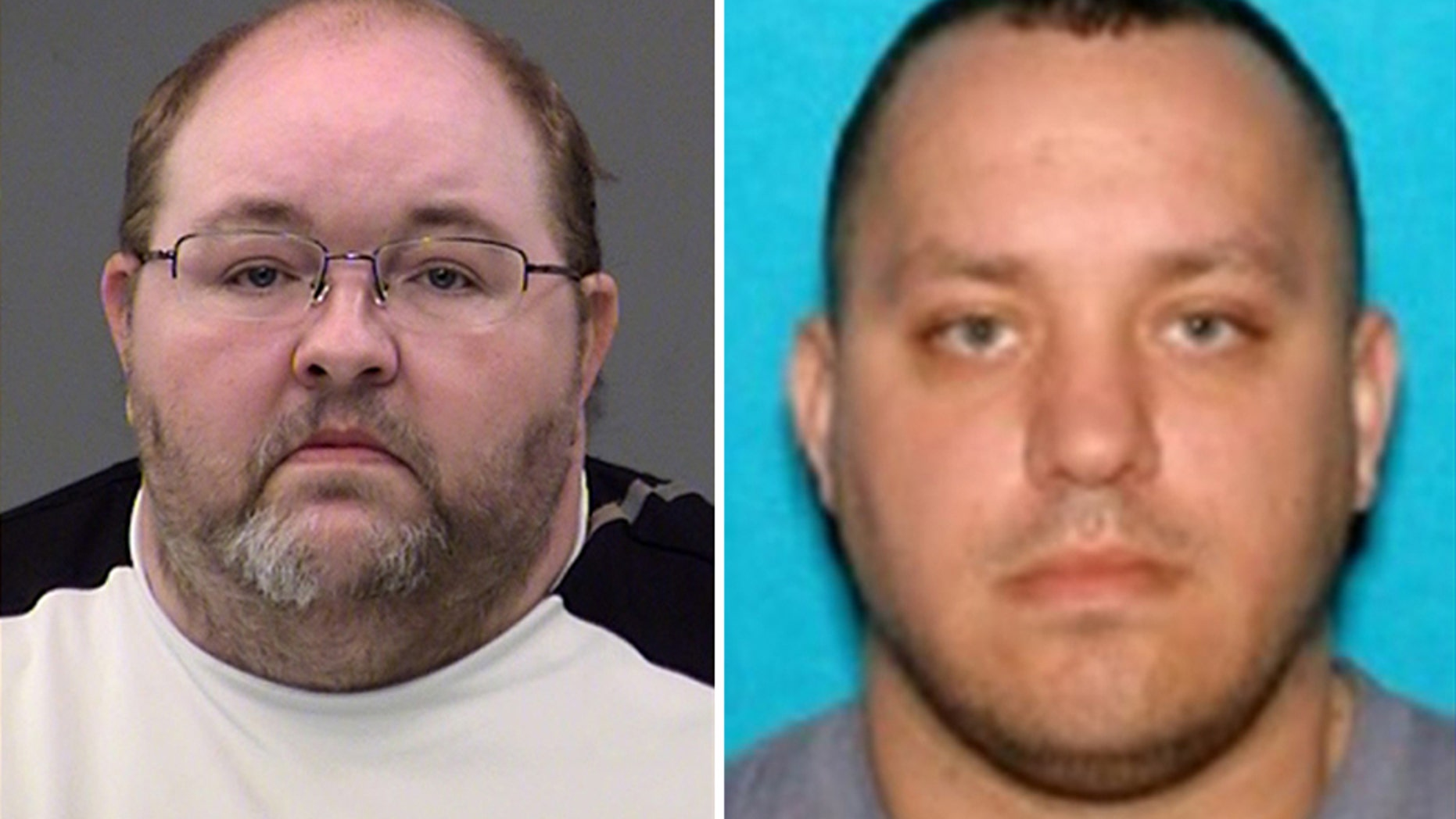 Dwight Shotts, 42, (left) was arrested on Monday after he reportedly called the police to admit to the murder of 35-year-old Anthony Cline (right), who was found shot in the  head in his bathtub.